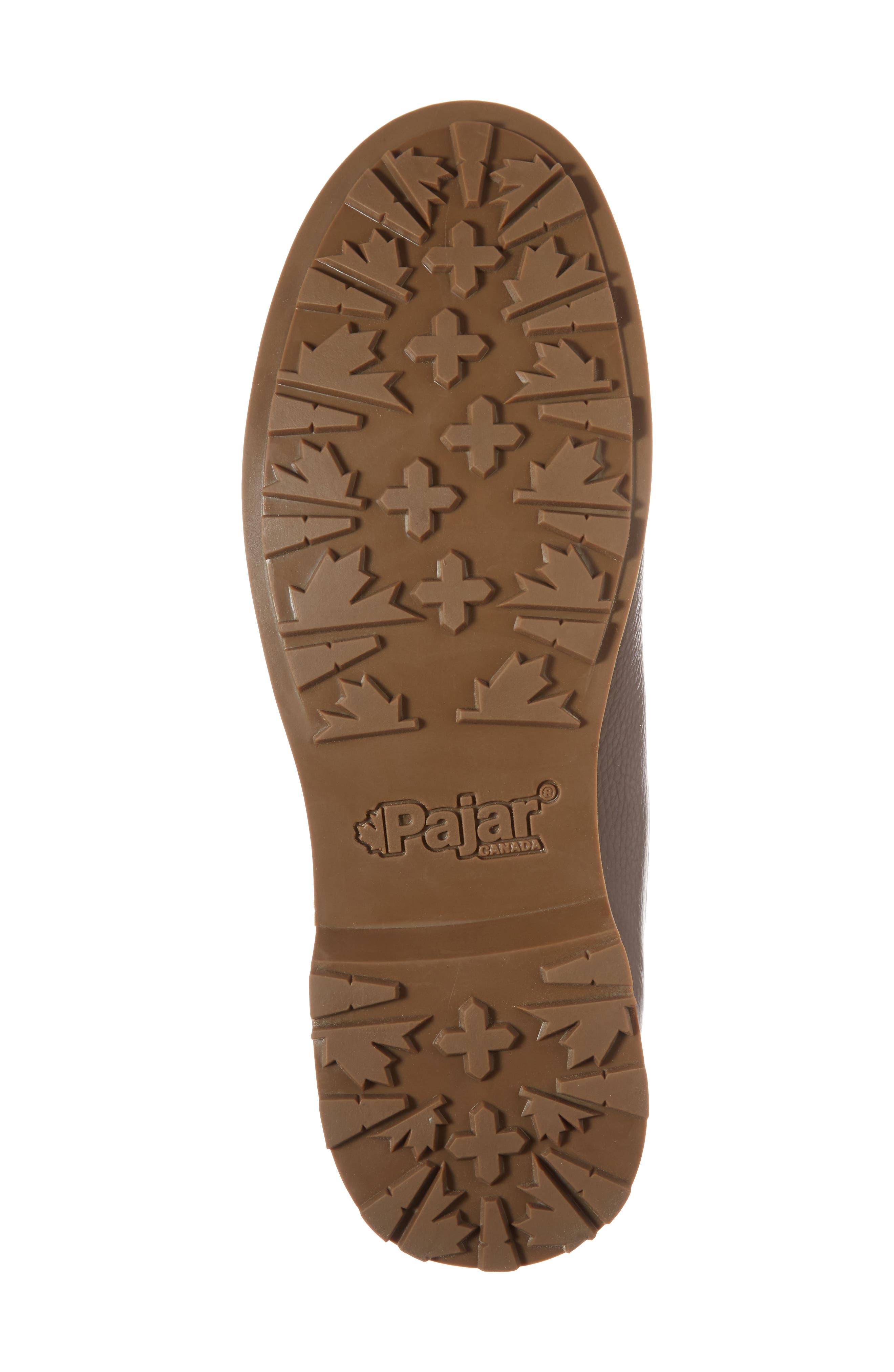 David Plain Toe Boot,                             Alternate thumbnail 6, color,                             Chocolate Leather