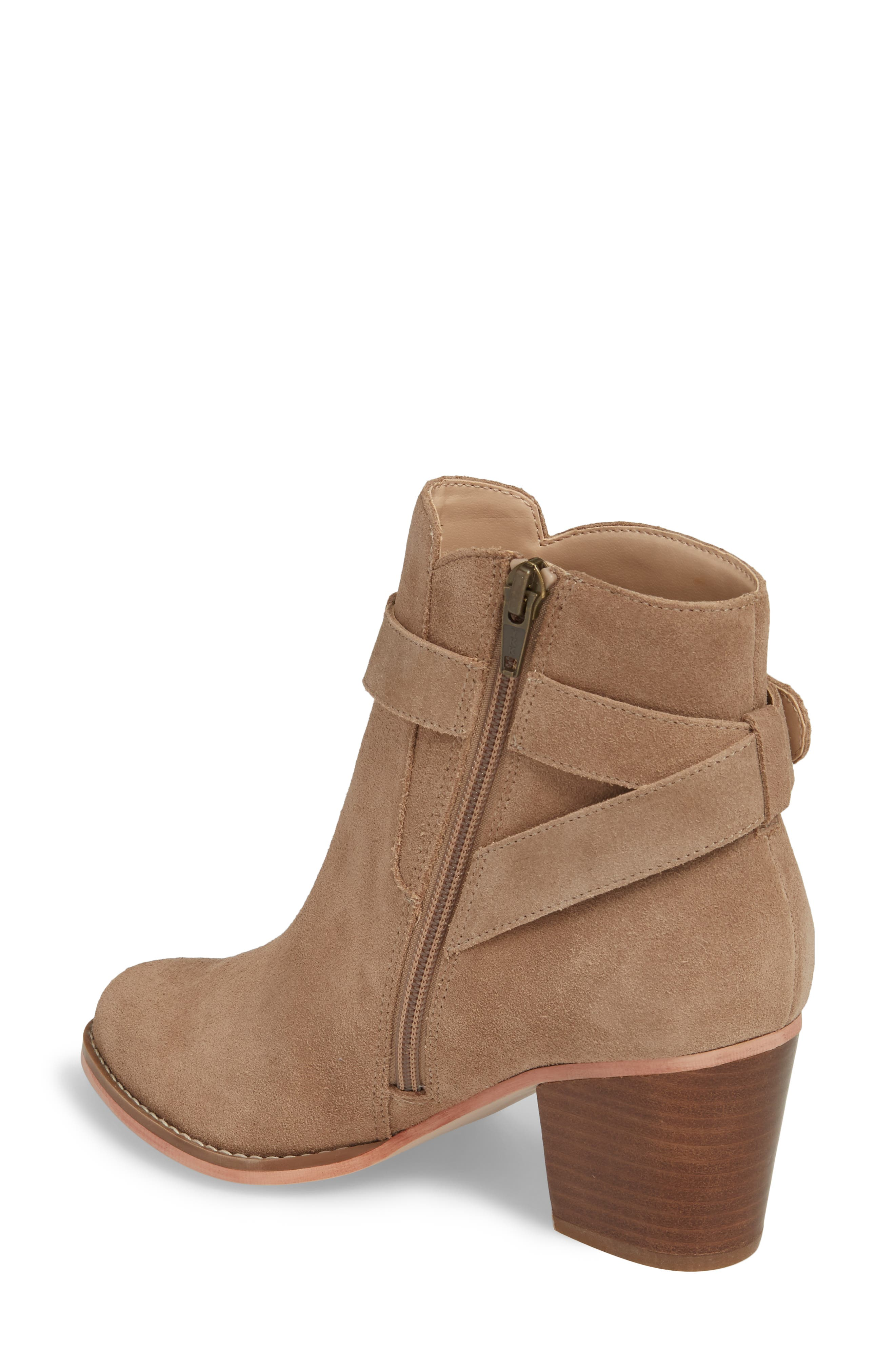Alternate Image 2  - Sole Society Paislee Buckle Strap Bootie (Women)