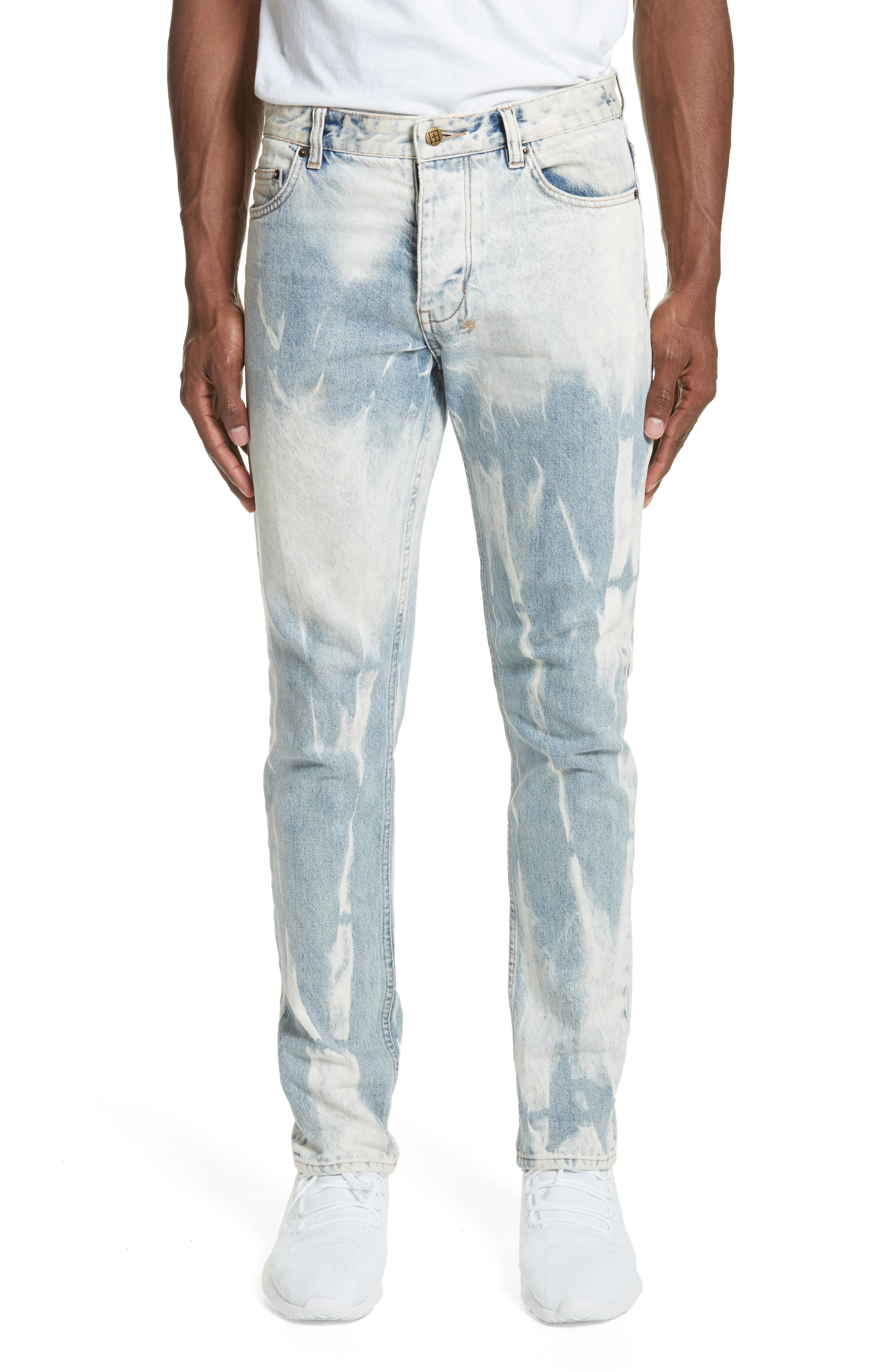 Chitch Mile Skinny Jeans,                             Main thumbnail 1, color,                             Denim