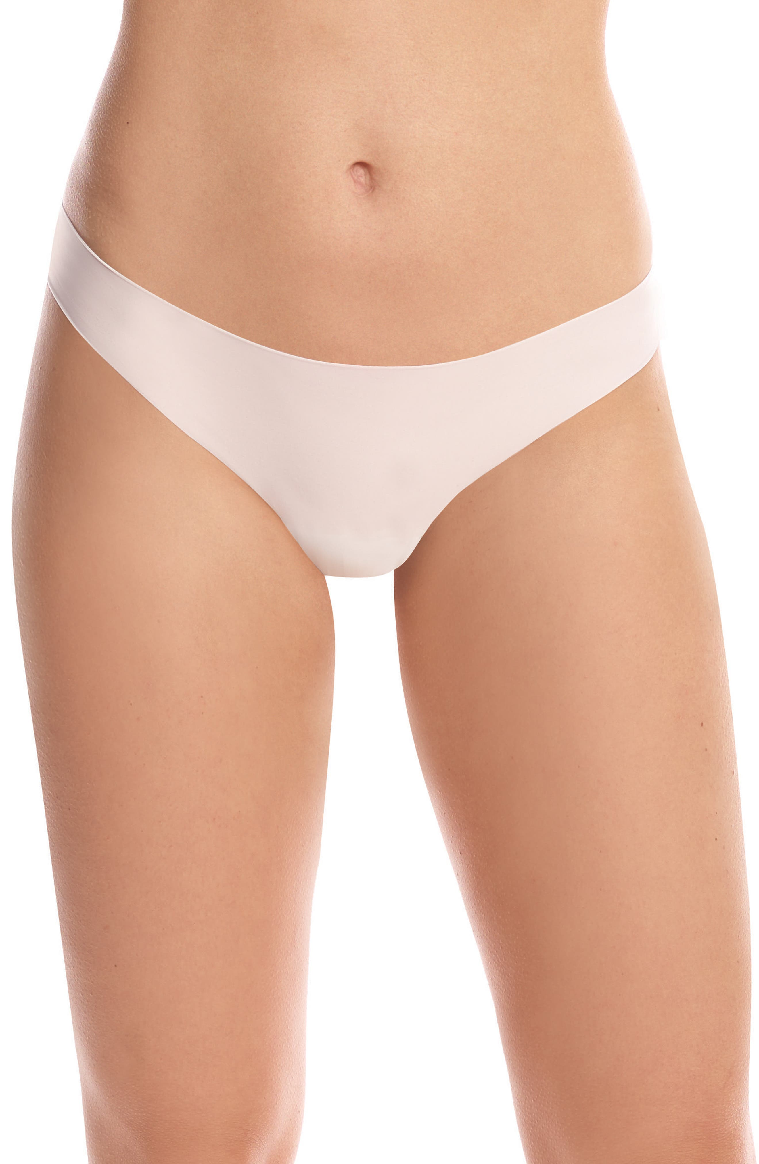 Perfect Stretch Thong,                             Main thumbnail 1, color,                             Ivory