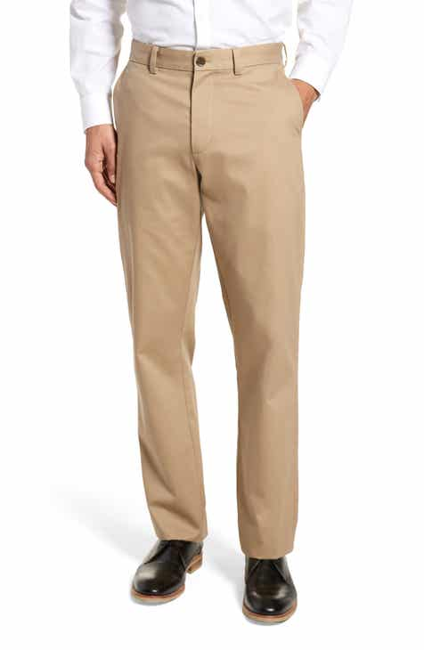 614b930ebec8 Nordstrom Men s Shop Wrinkle Free Straight Leg Chinos