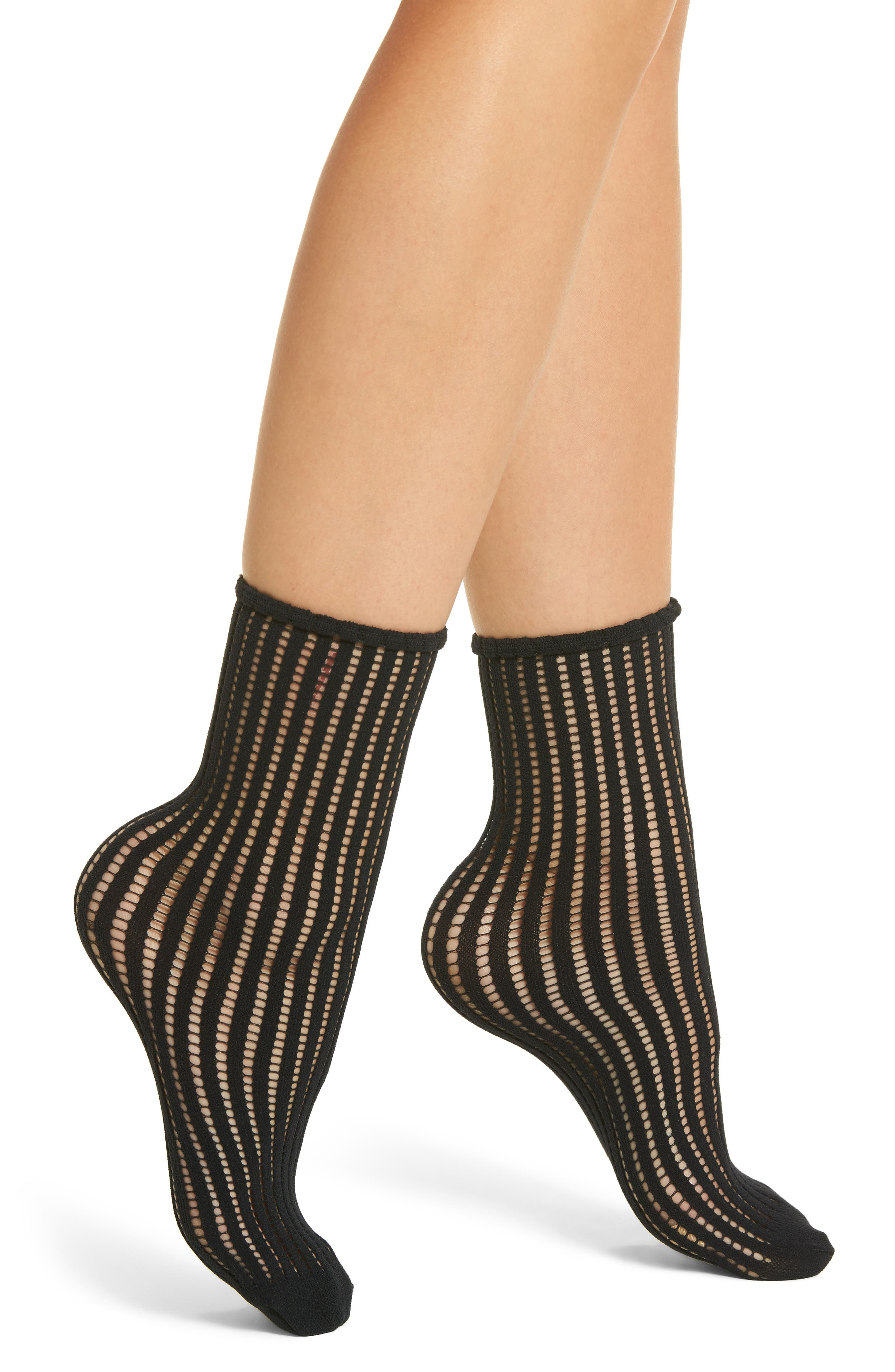 Main Image - Wolford Janis Socks