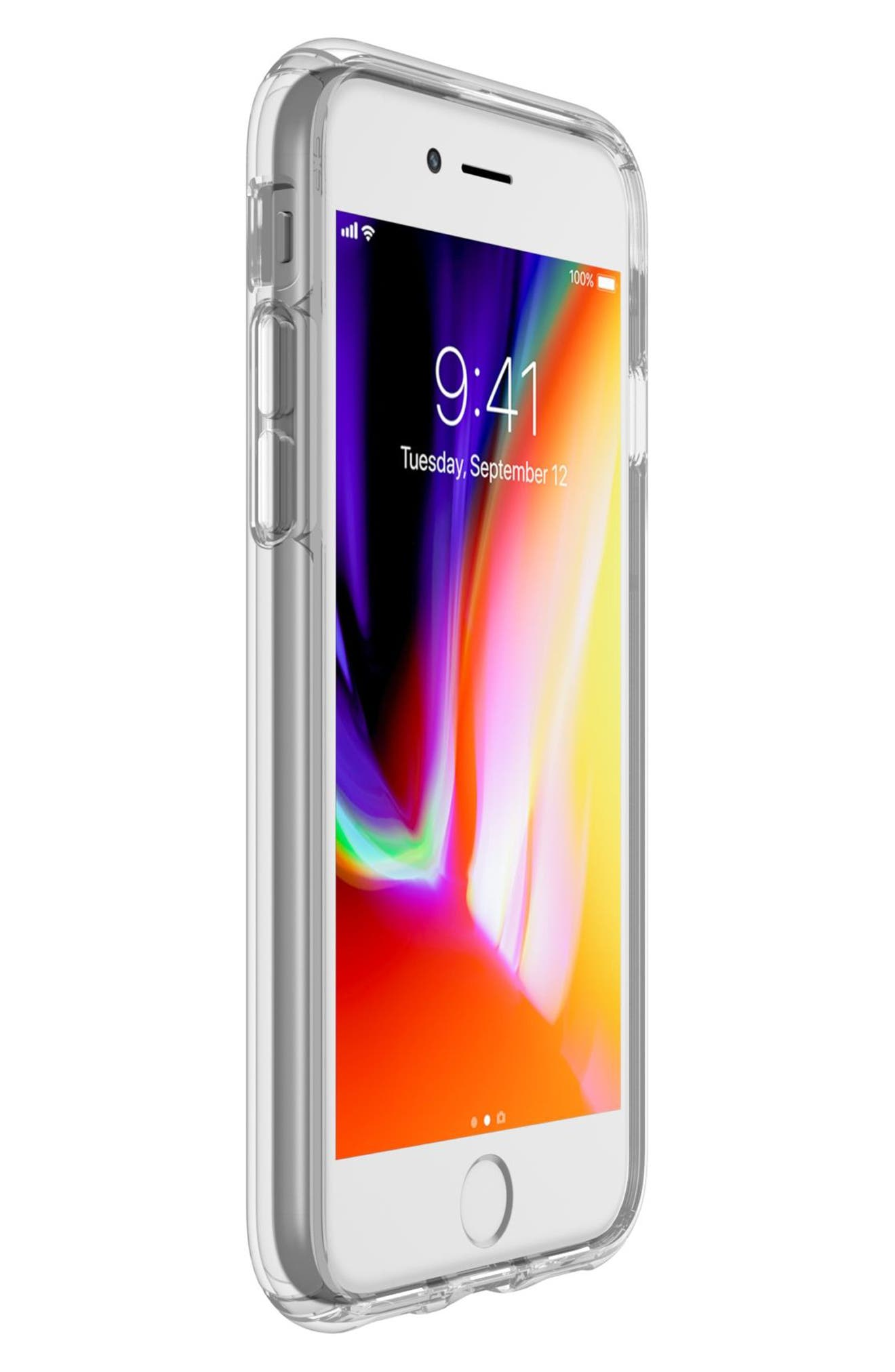 Transparent iPhone 6/6s/7/8 Case,                             Alternate thumbnail 6, color,                             Clear/ Clear