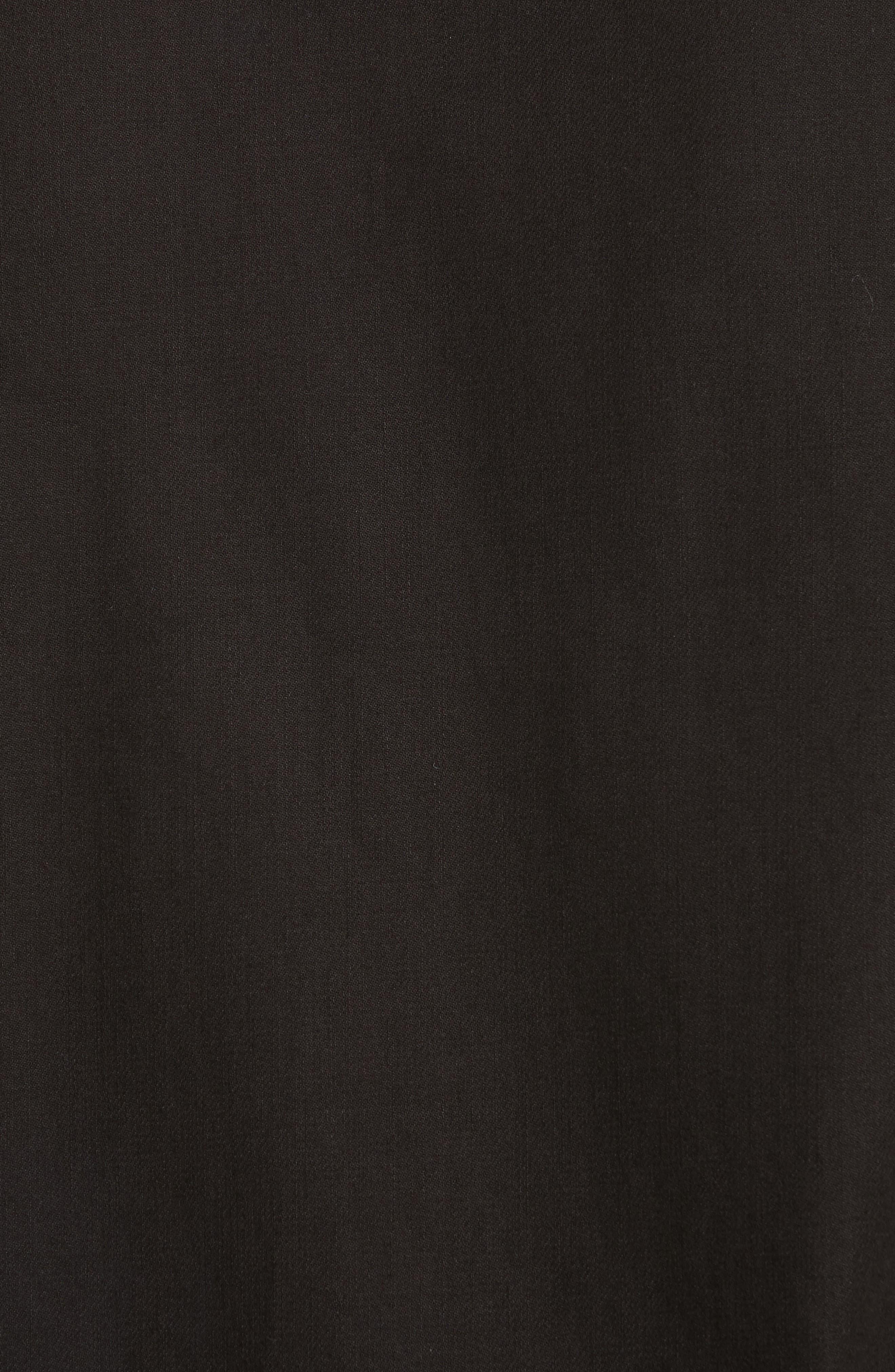 Denim Shirt,                             Alternate thumbnail 5, color,                             Black