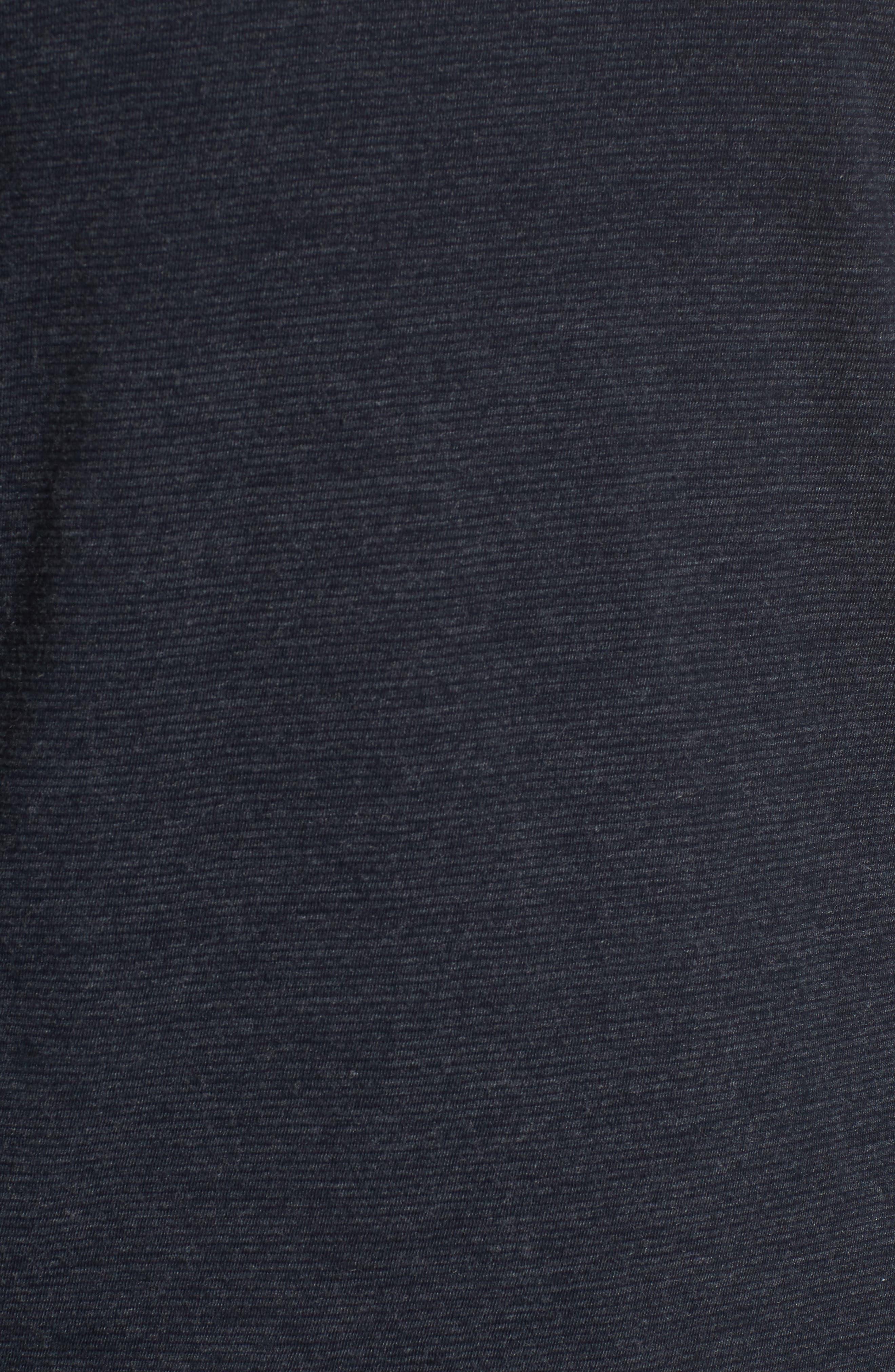 Dylan Stripe T-Shirt,                             Alternate thumbnail 5, color,                             Carbon Blue