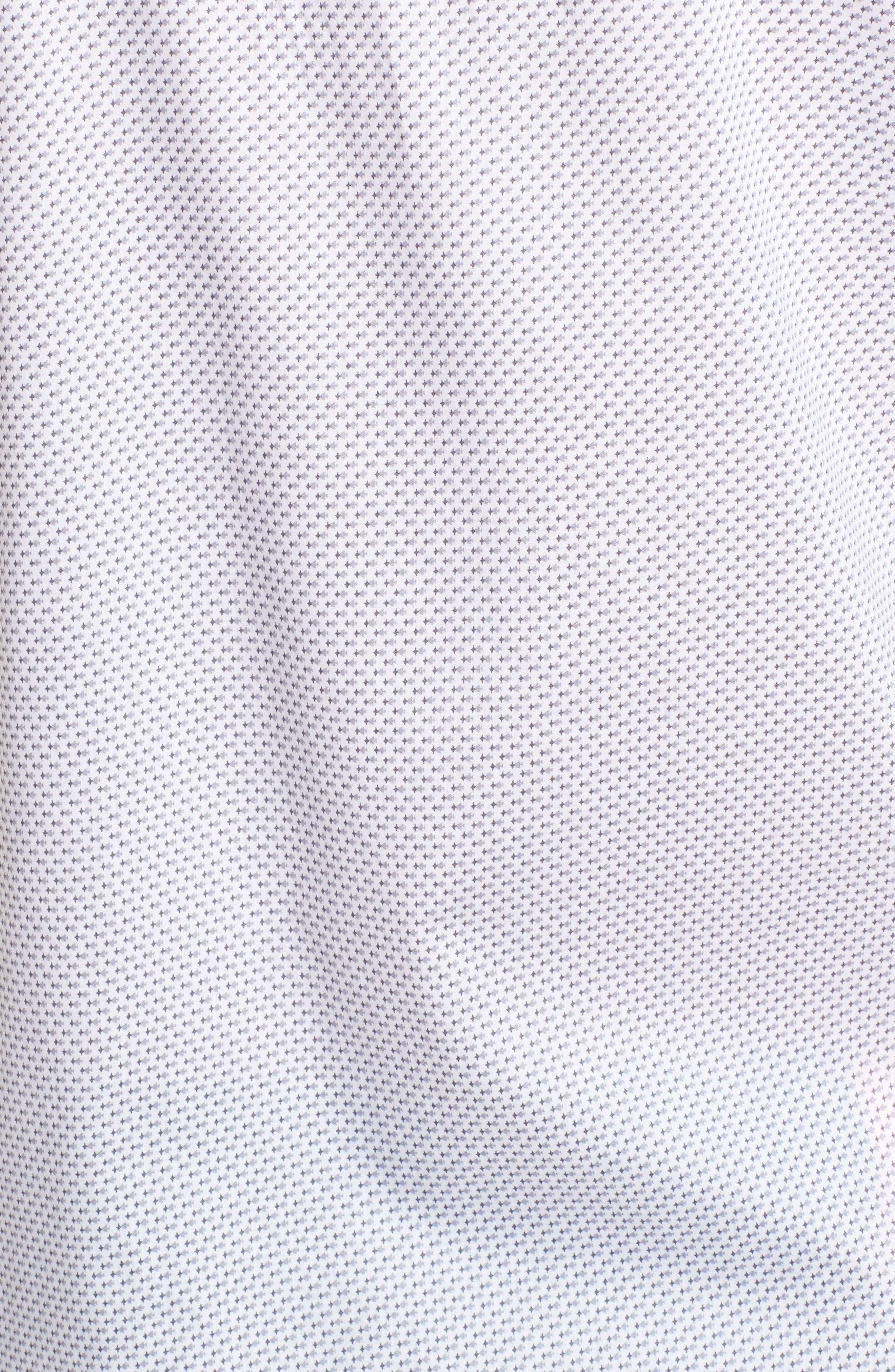 Alternate Image 5  - Zachary Prell Watts Arrow Print Sport Shirt