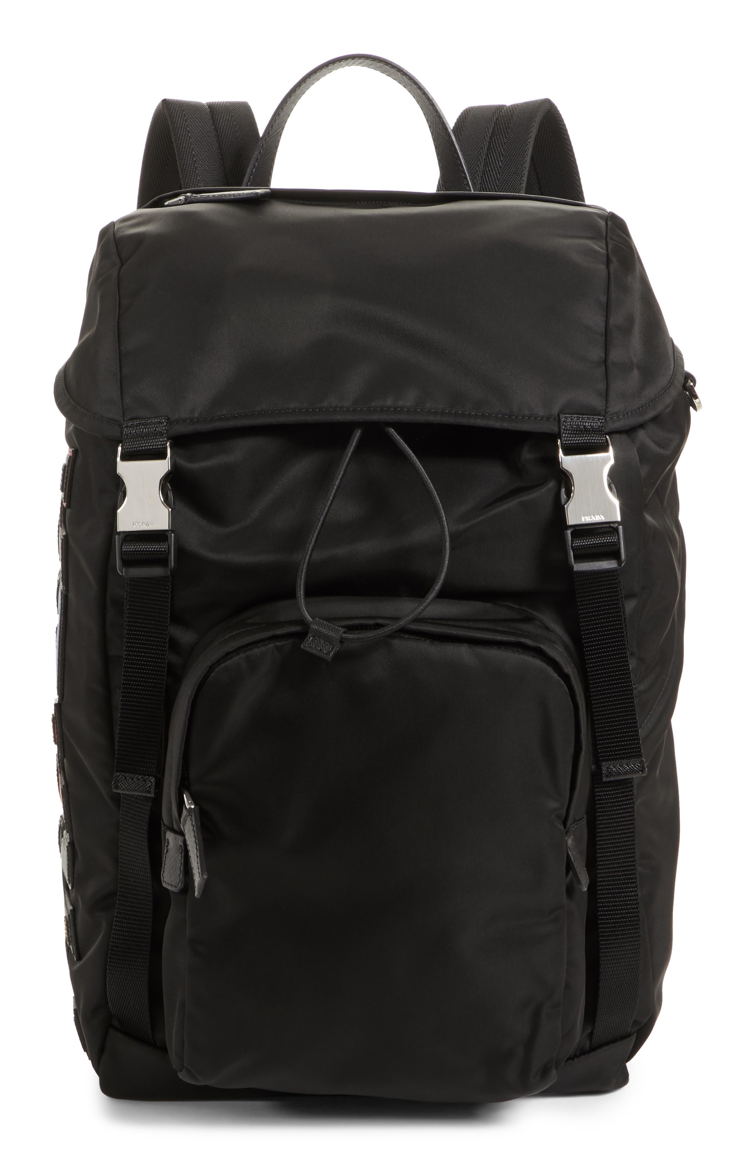 Character Backpack,                         Main,                         color, F0sgi Nero M