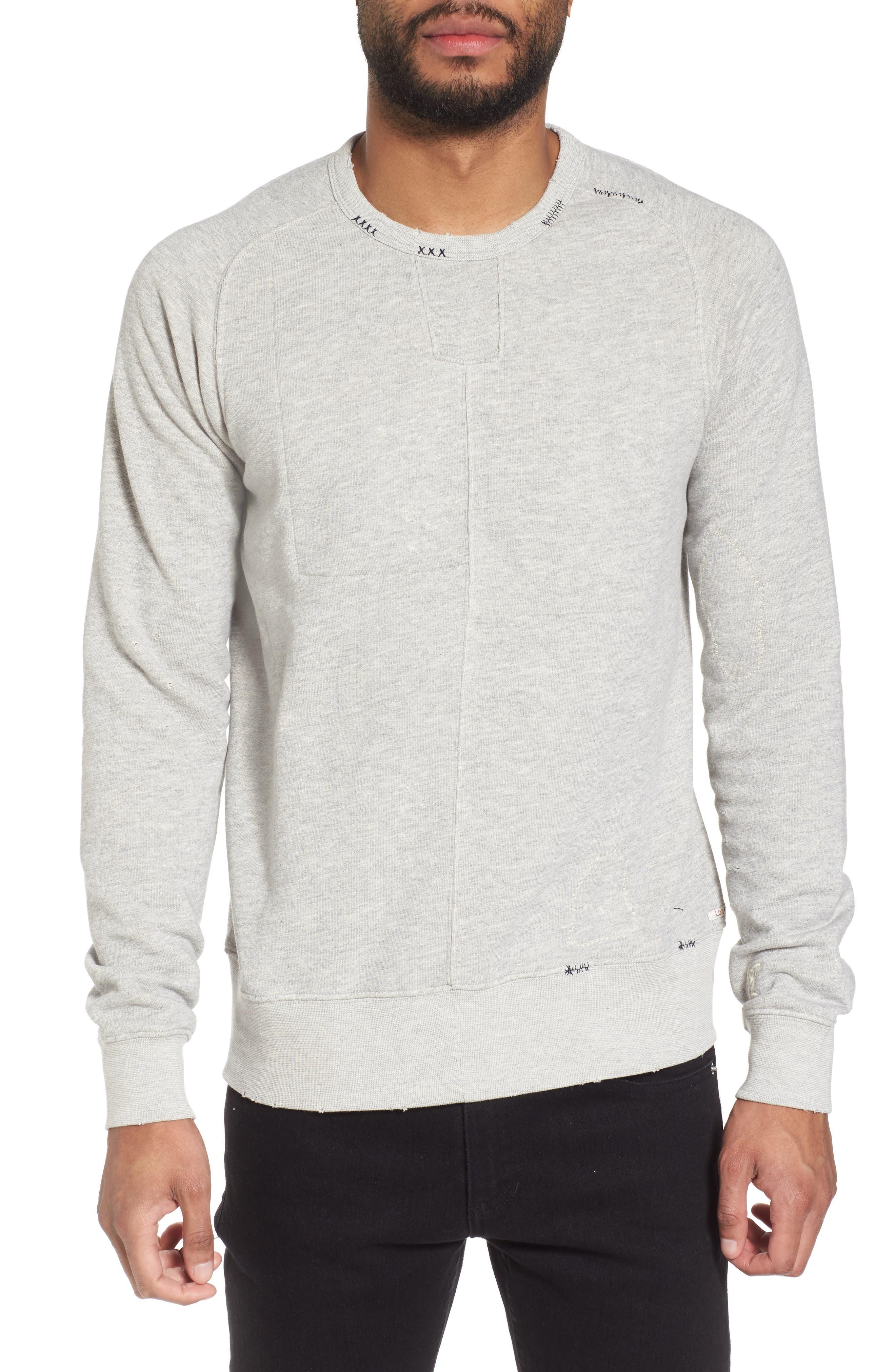 Lot 22 Sweatshirt,                         Main,                         color, Blue