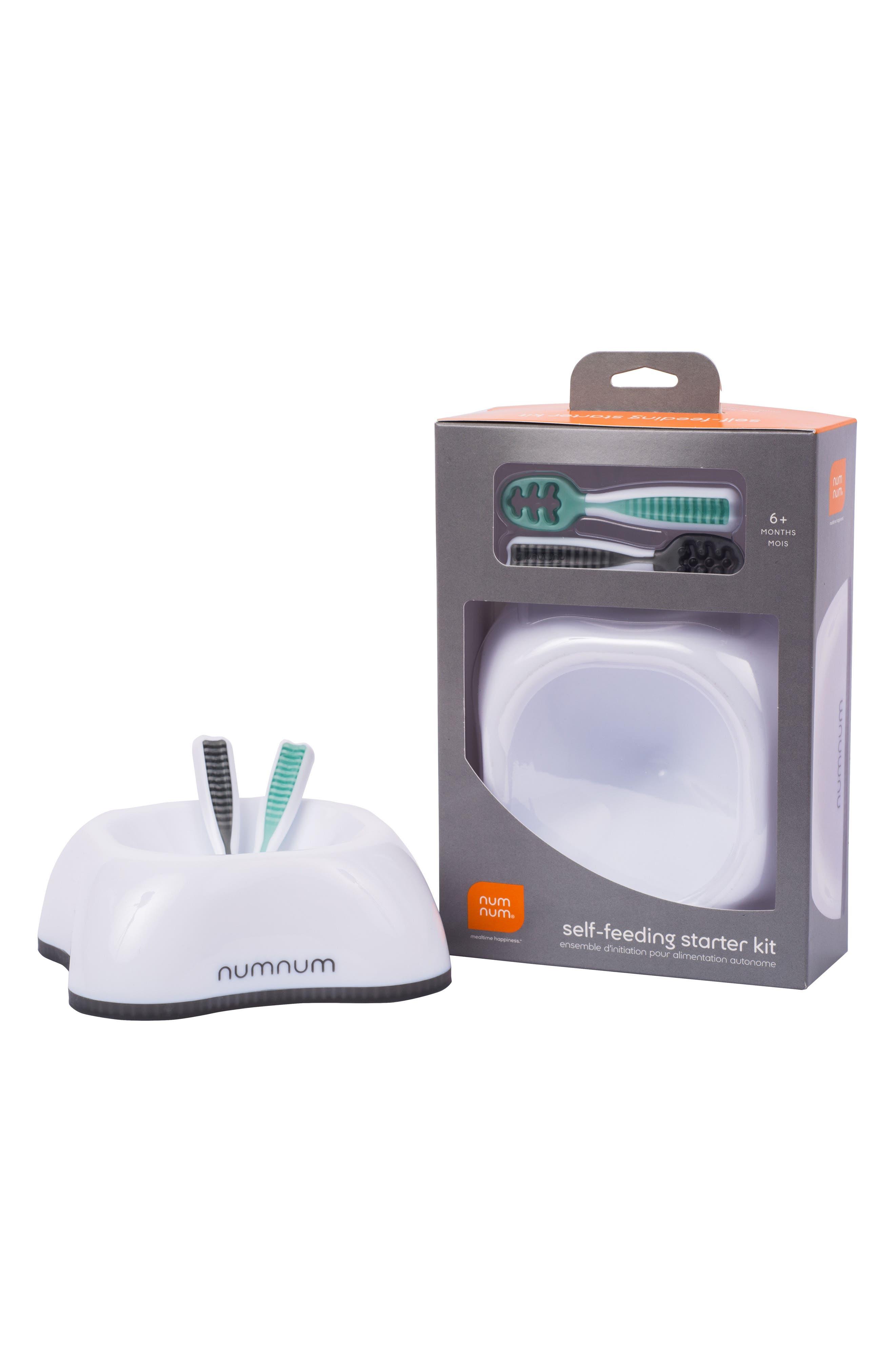 Self-Feeding Starter Kit,                         Main,                         color, Gray/ Green