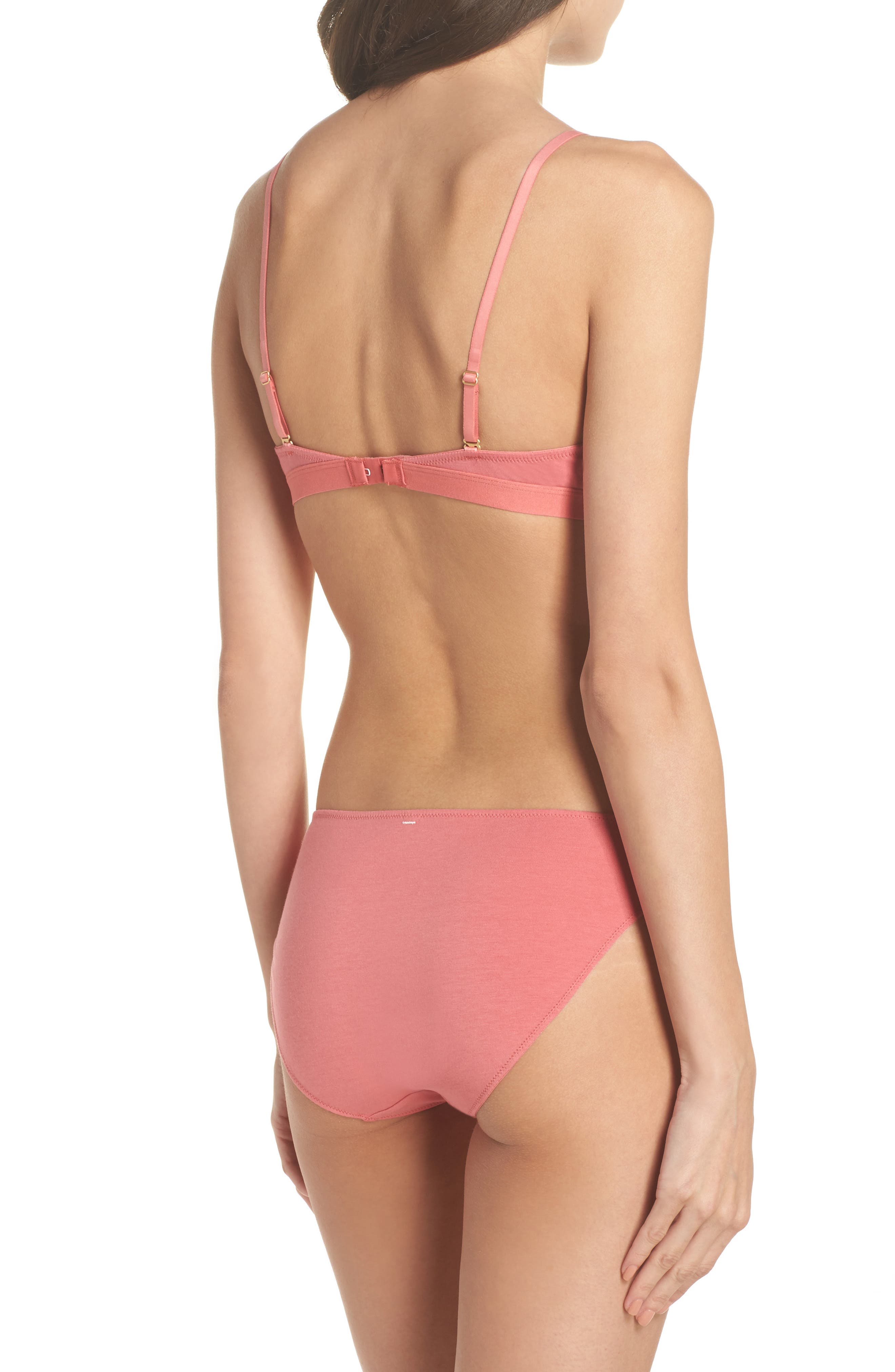 Alternate Image 6  - Madewell Jersey Bikini (3 for $33)