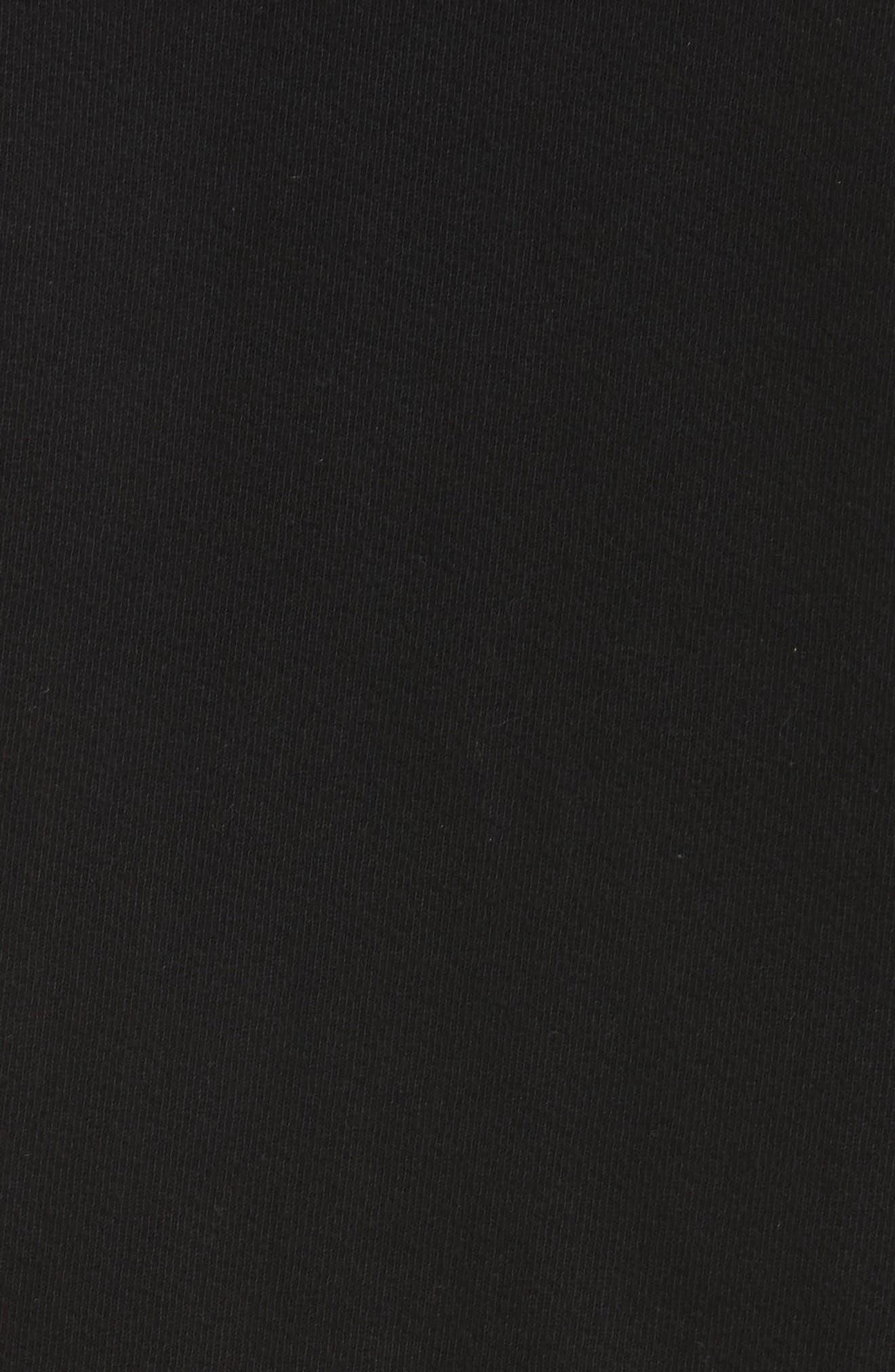 Burke Hoodie,                             Alternate thumbnail 5, color,                             Black