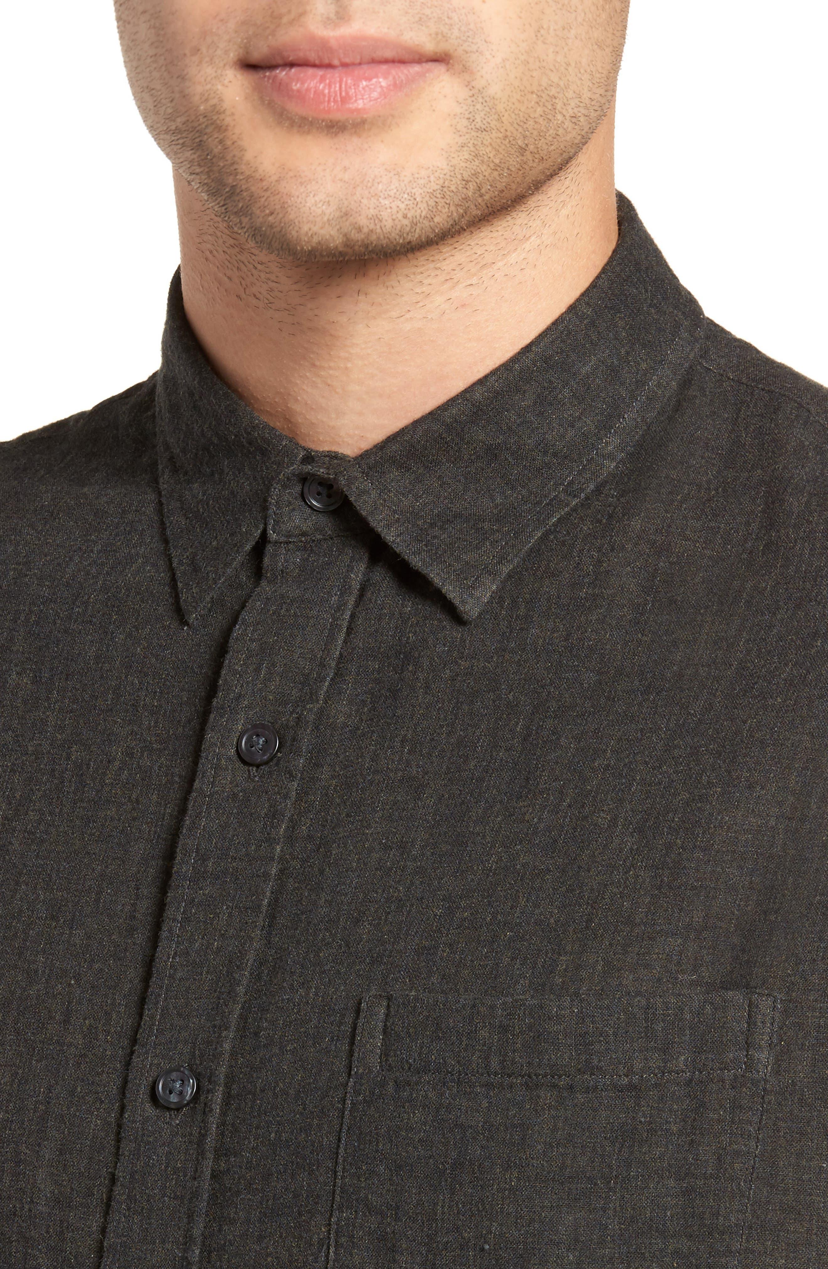 Double Face Sport Shirt,                             Alternate thumbnail 2, color,                             H Underwood
