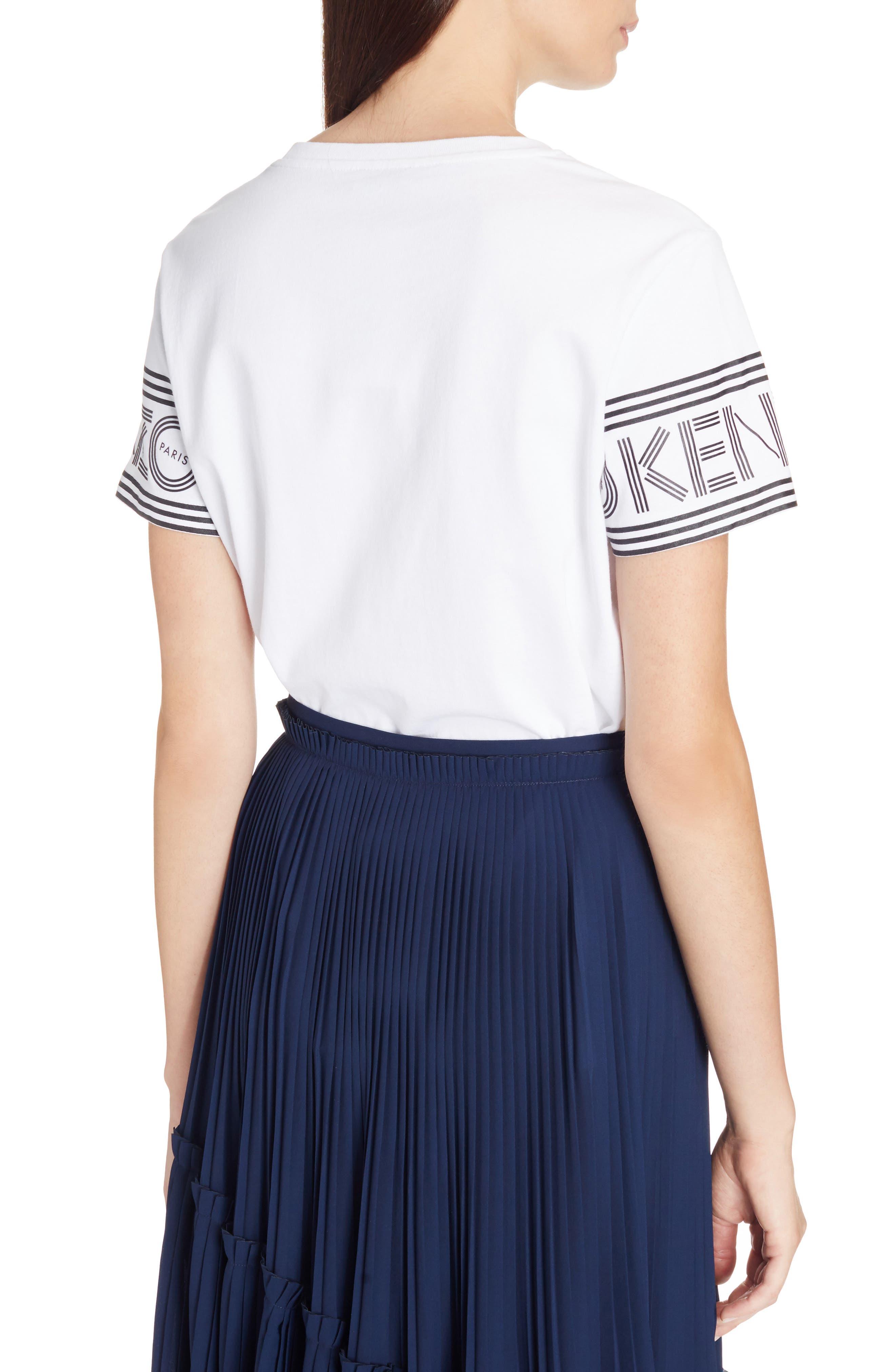 Alternate Image 2  - KENZO Sport Logo Sleeve Tee