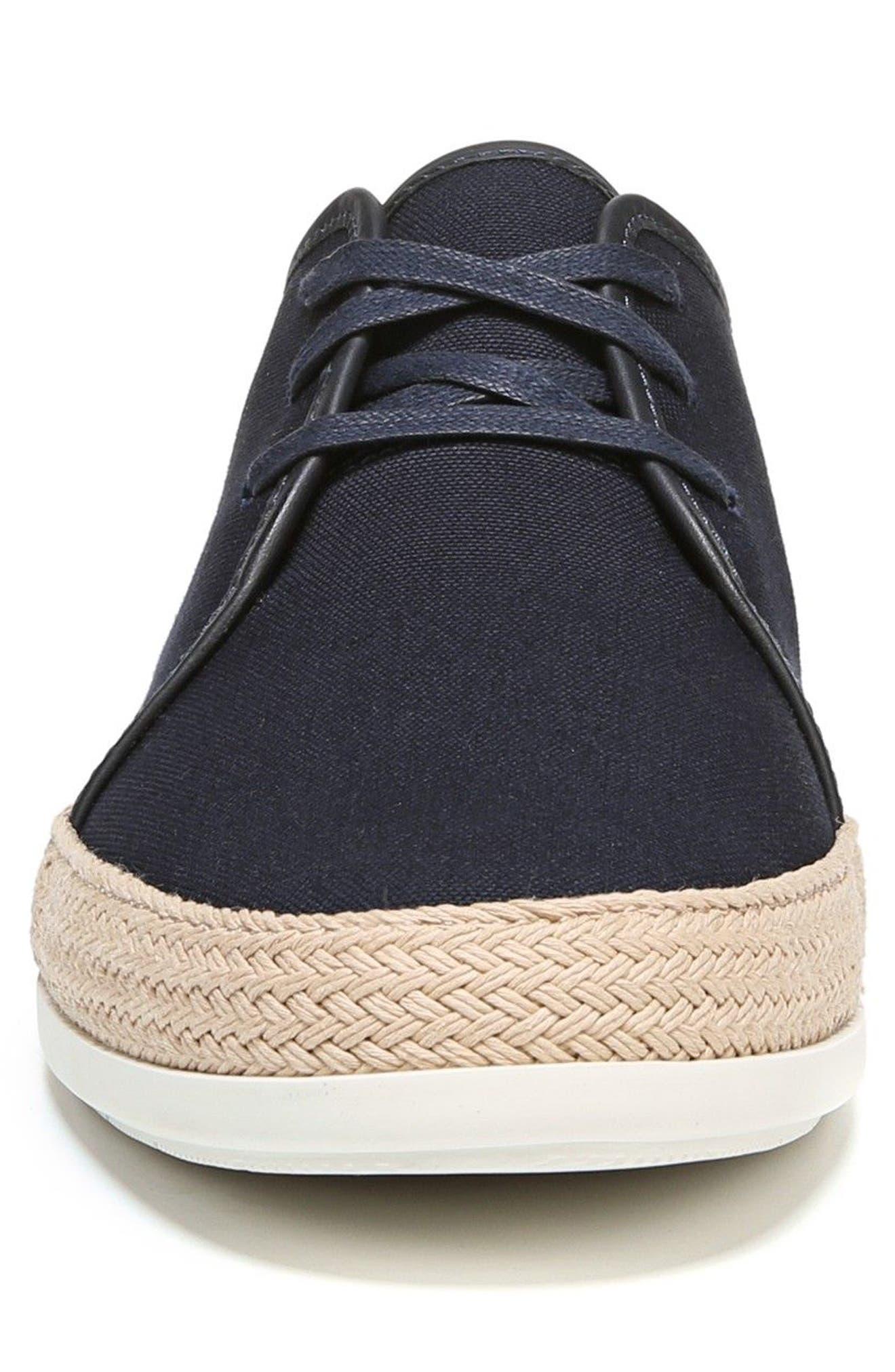 Chandler Espadrille Sneaker,                             Alternate thumbnail 4, color,                             Coastal
