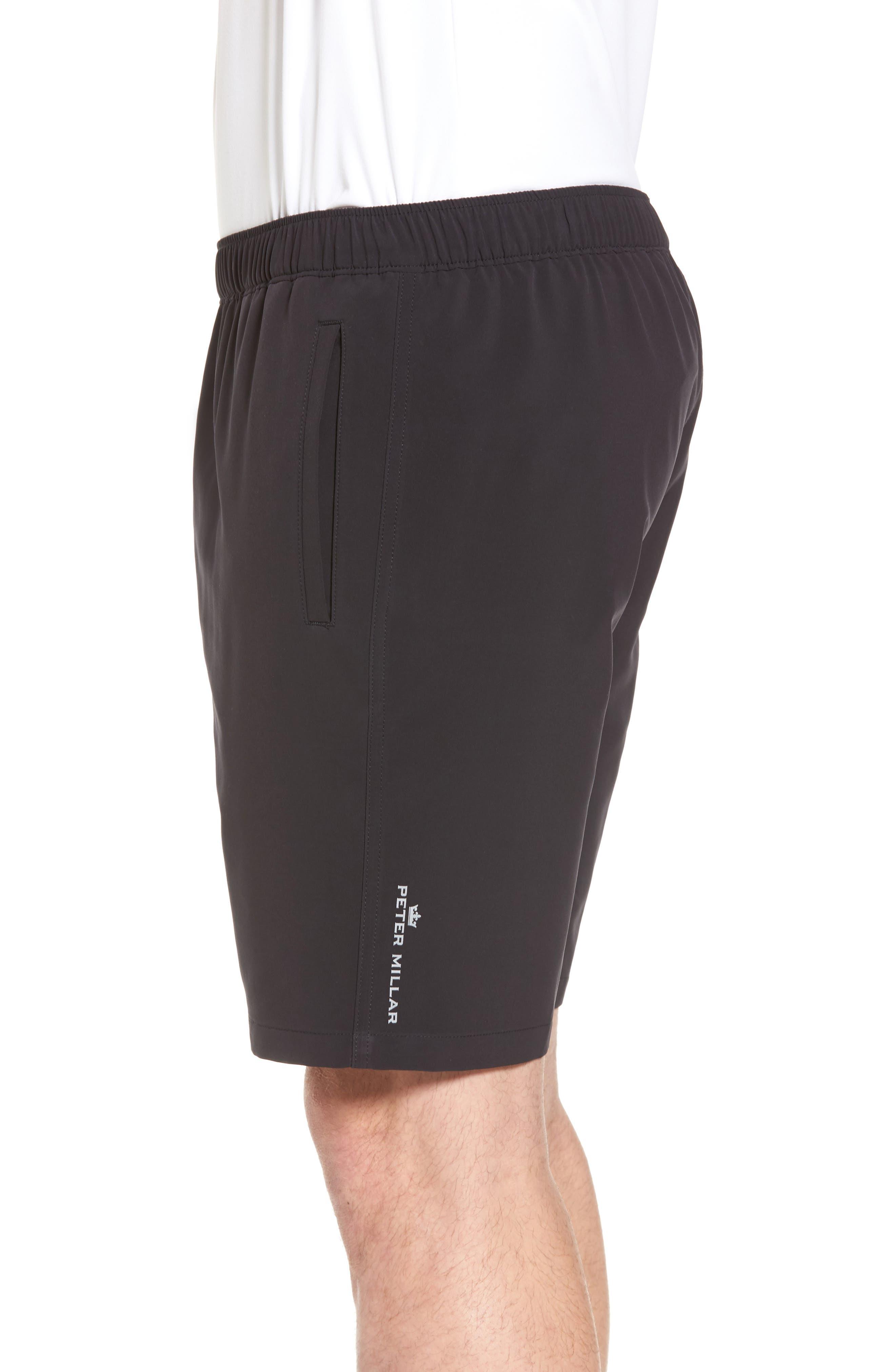 Oslo Sport Shorts,                             Alternate thumbnail 3, color,                             Black