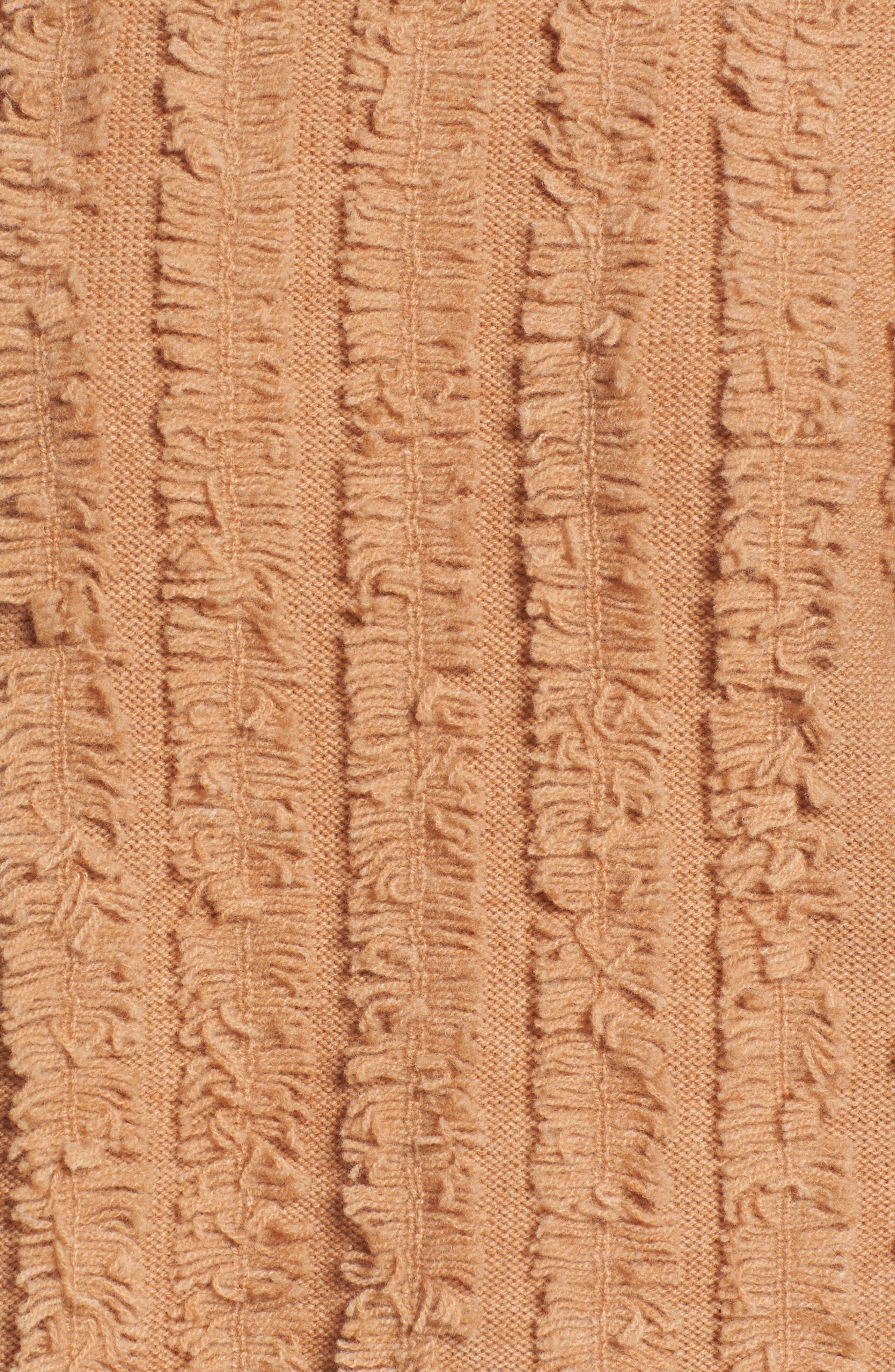 Alternate Image 5  - Madewell Fringe Stripe Pullover Sweater