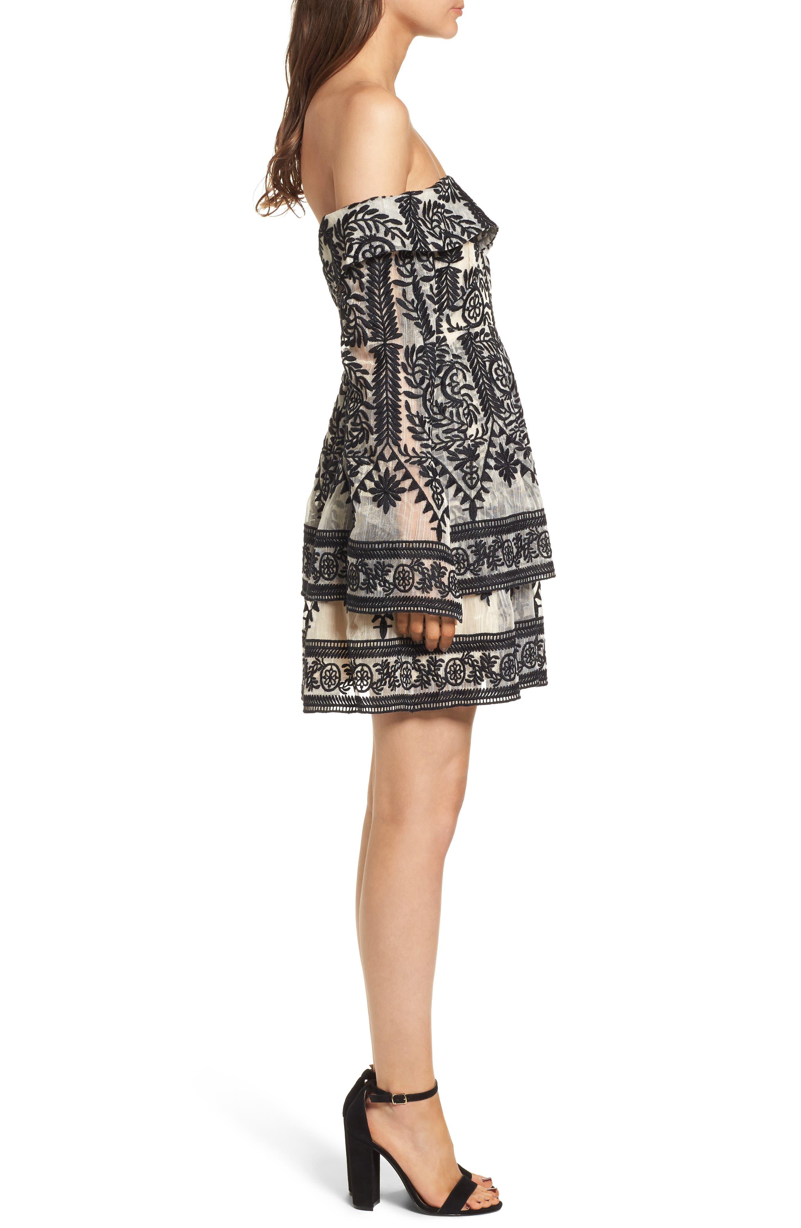 Alternate Image 3  - Elliatt Antoinette Off the Shoulder Dress
