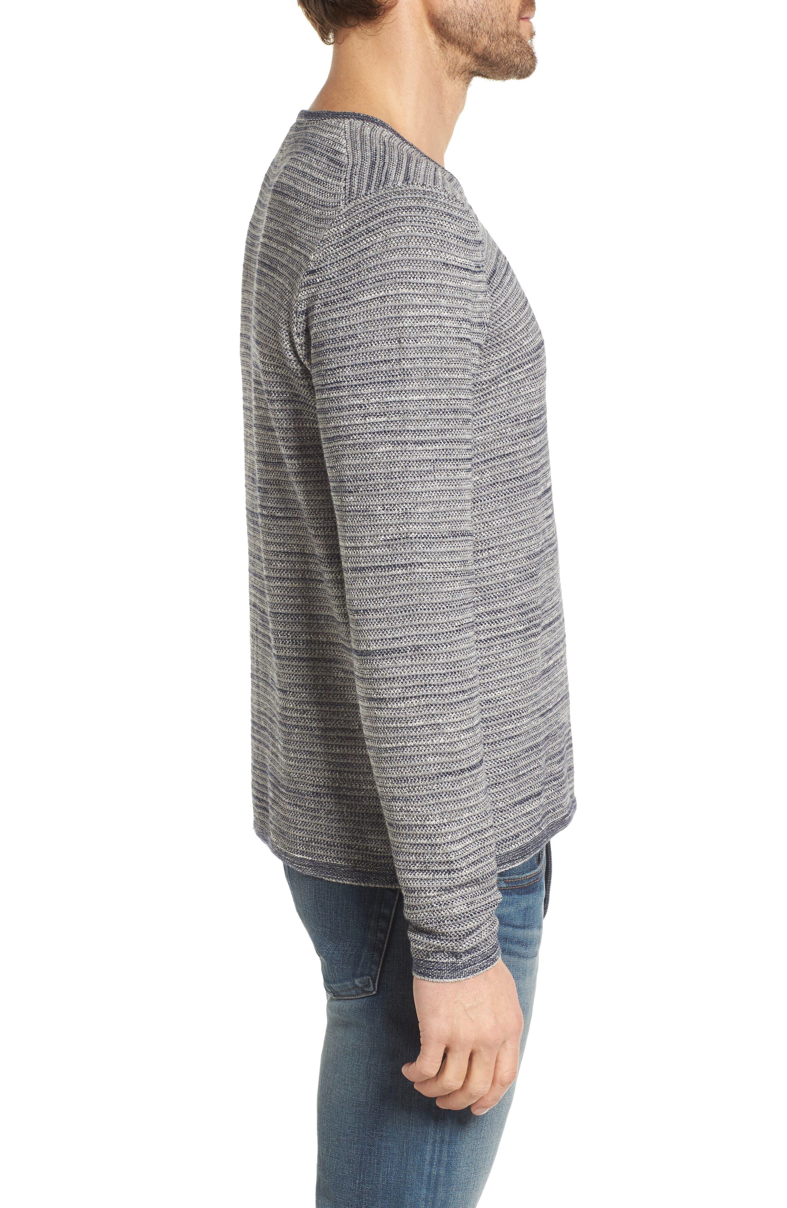 Alternate Image 3  - Grayers Bird's Eye Cotton Jacquard Sweater