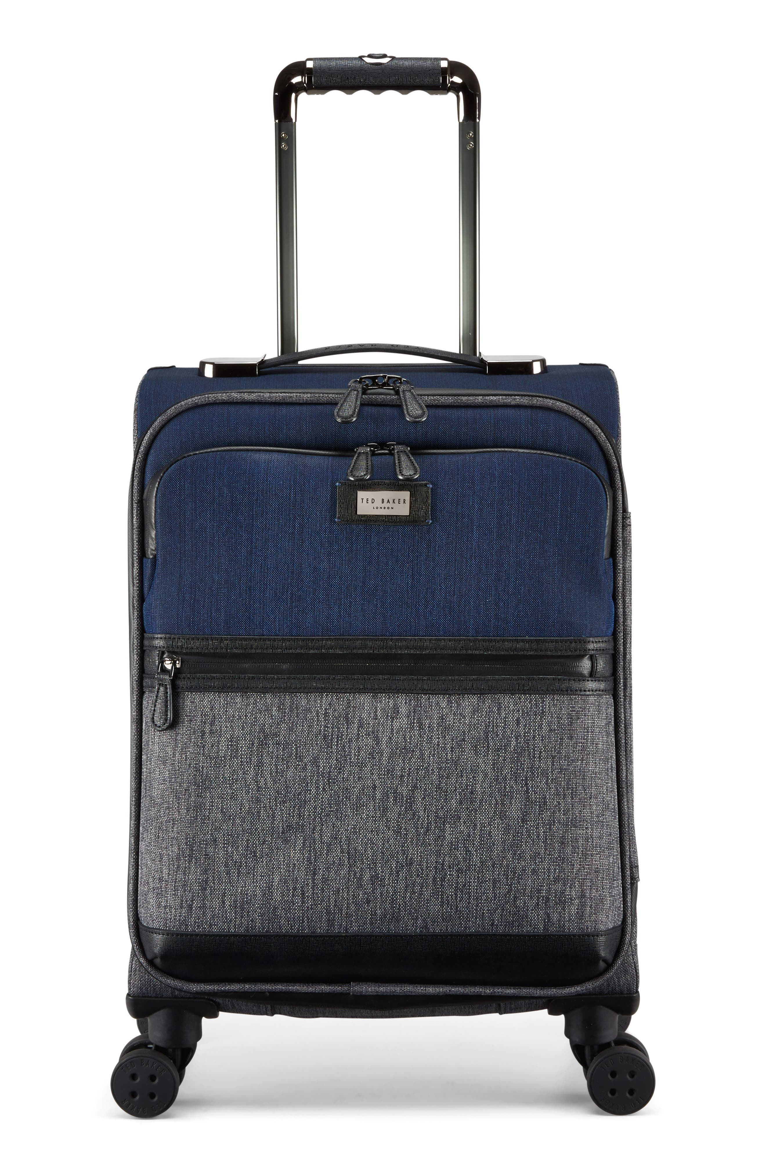 Brunswick 22-Inch Rolling Suitcase,                             Main thumbnail 1, color,                             Grey