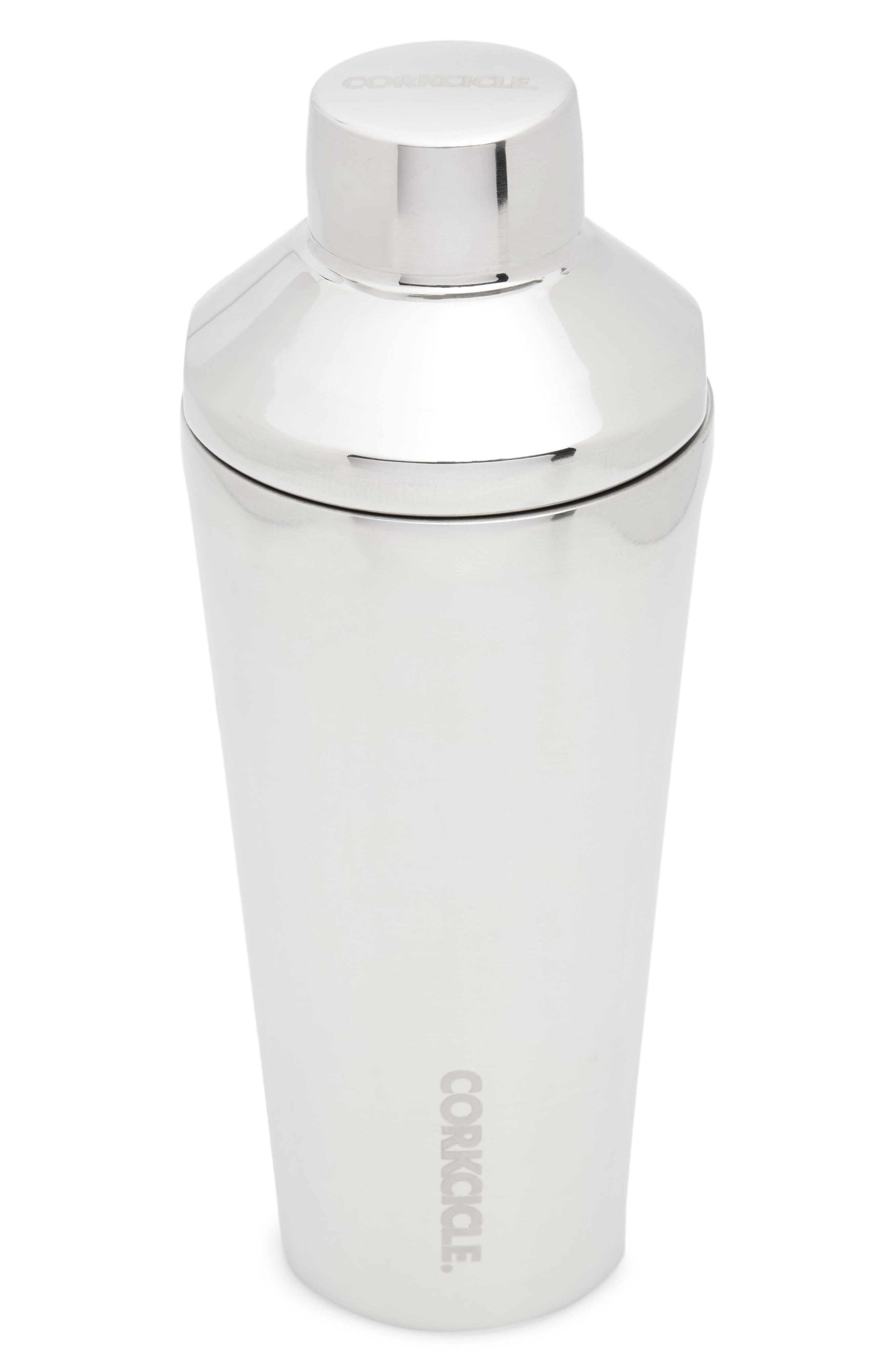 Insulated Stainless Steel Shaker,                         Main,                         color, Silver