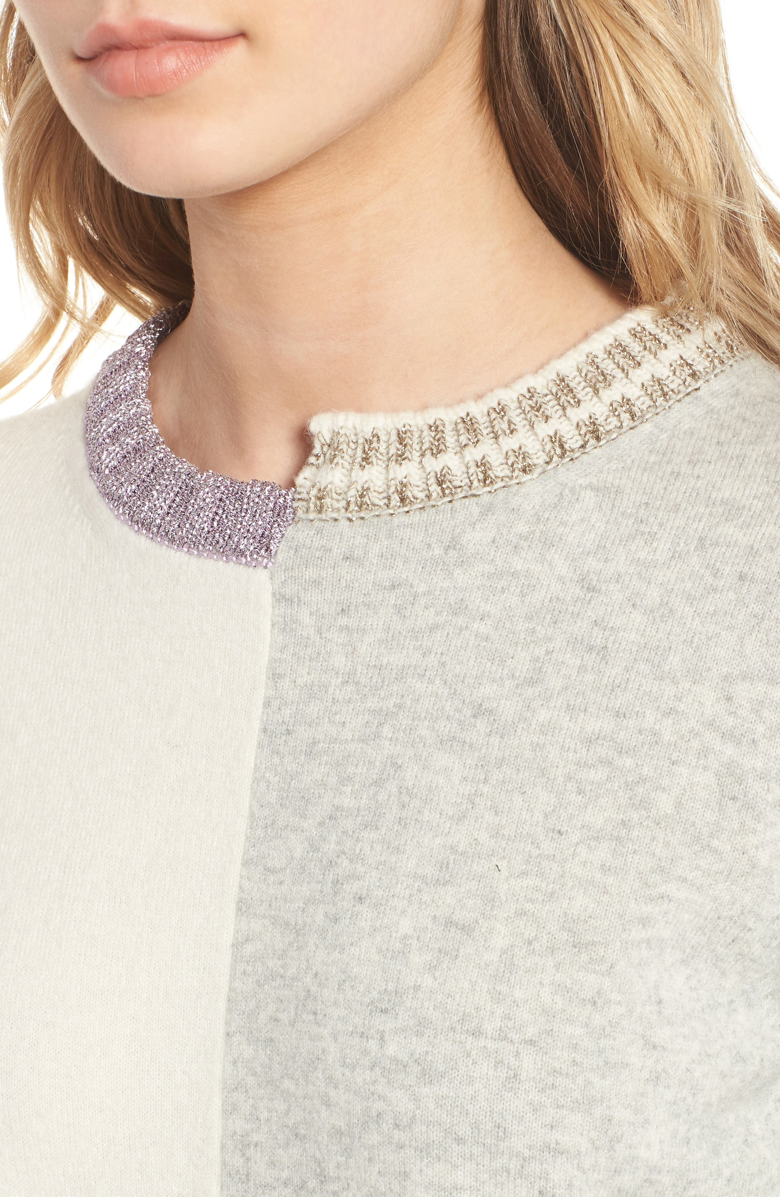 Alternate Image 4  - Zadig & Voltaire Source Two-Tone Wool & Cashmere Sweater