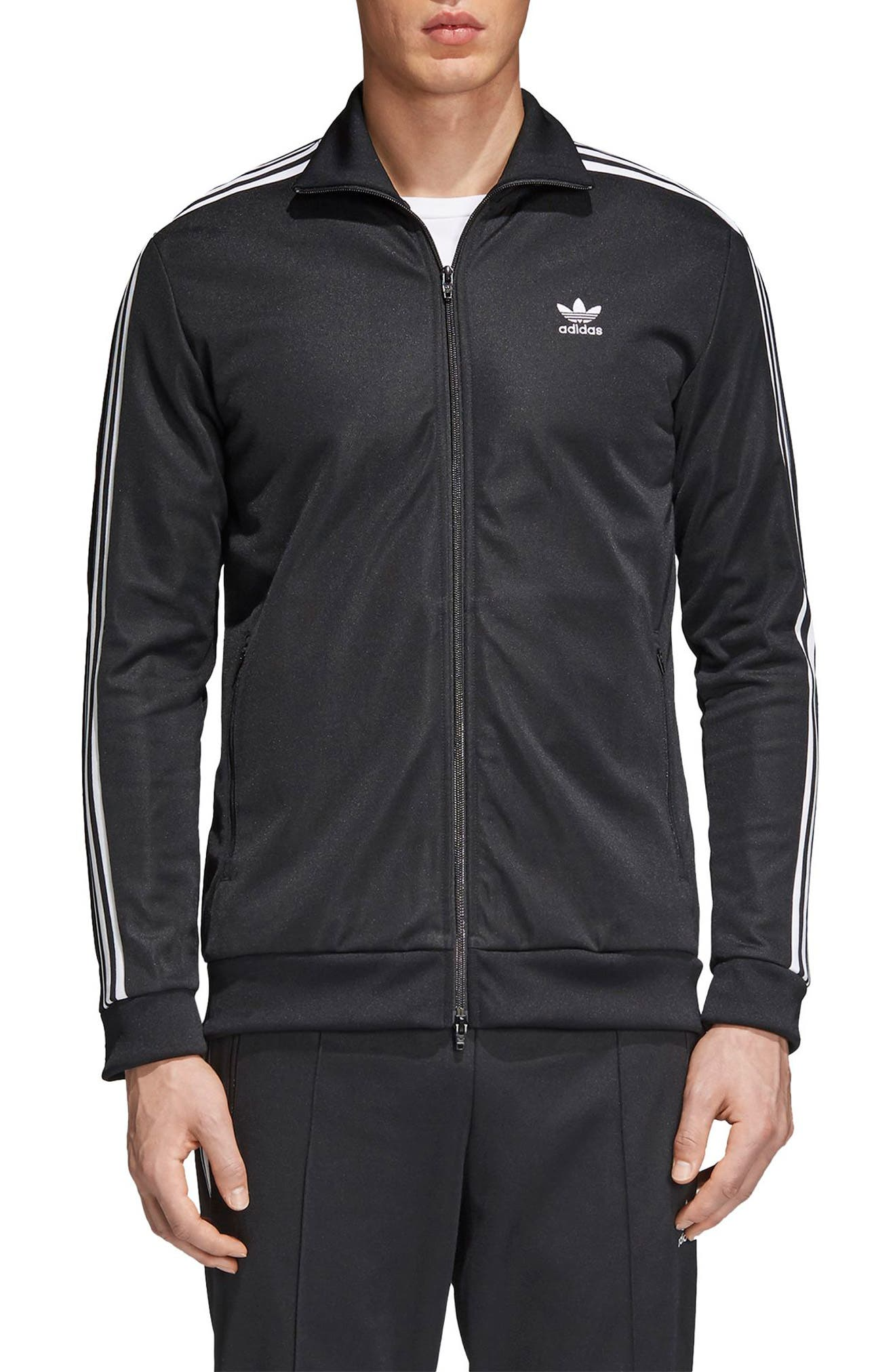 Beckenbauer Track Jacket,                         Main,                         color, Black