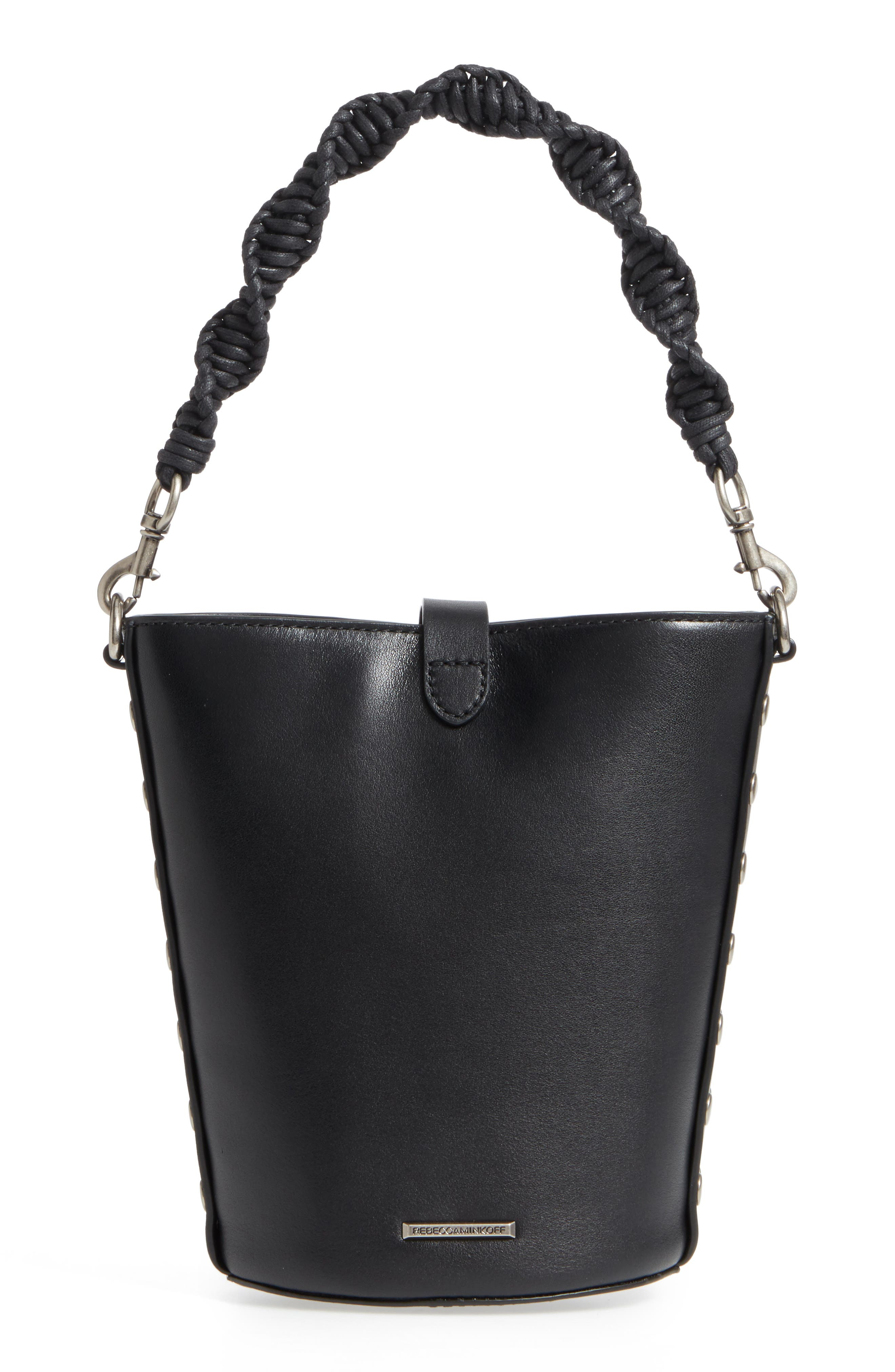 Alternate Image 4  - Rebecca Minkoff Slim Leather Bucket Bag