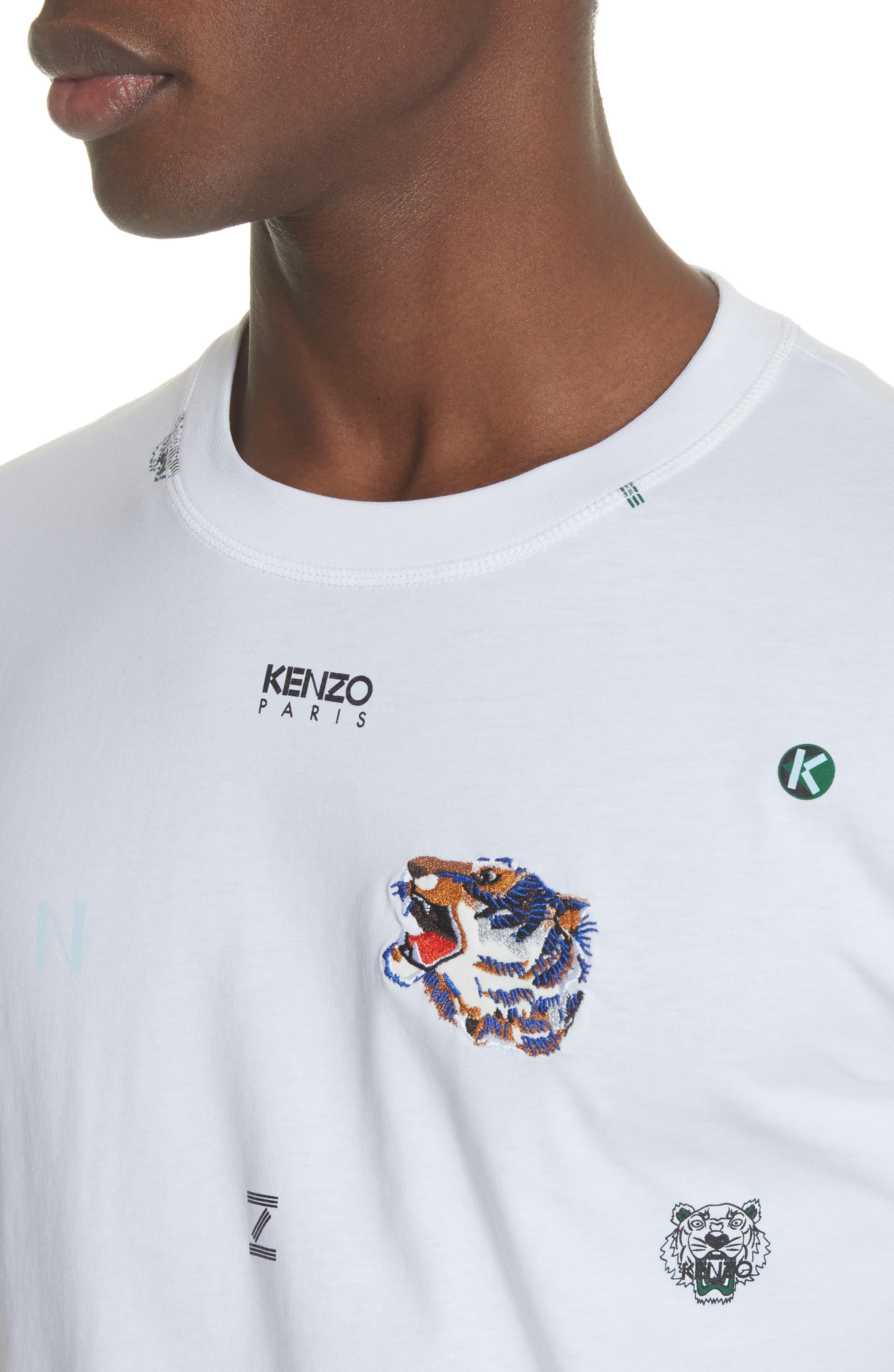 Ryuichi Sakamoto Graphic T-Shirt,                             Alternate thumbnail 4, color,                             White