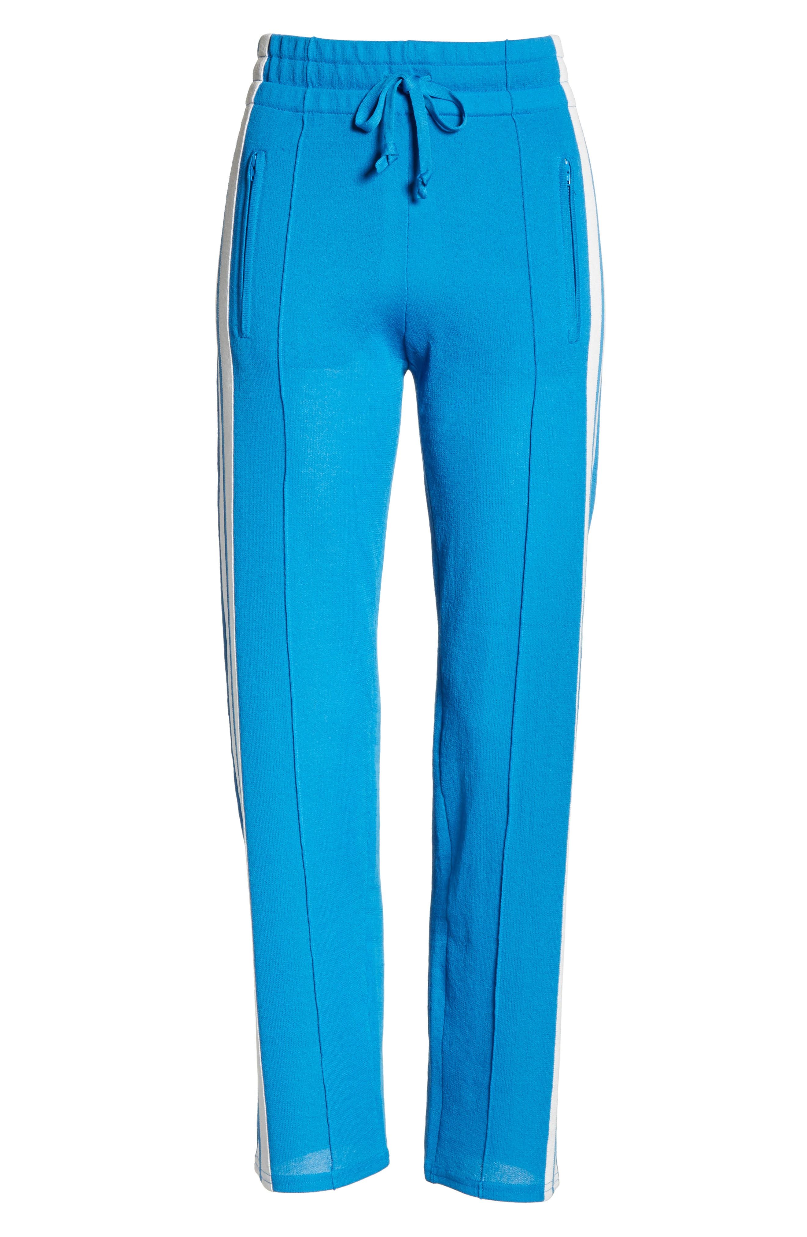 Isabel Marant Étoile Dobbs Pants,                             Alternate thumbnail 7, color,                             Electric Blue