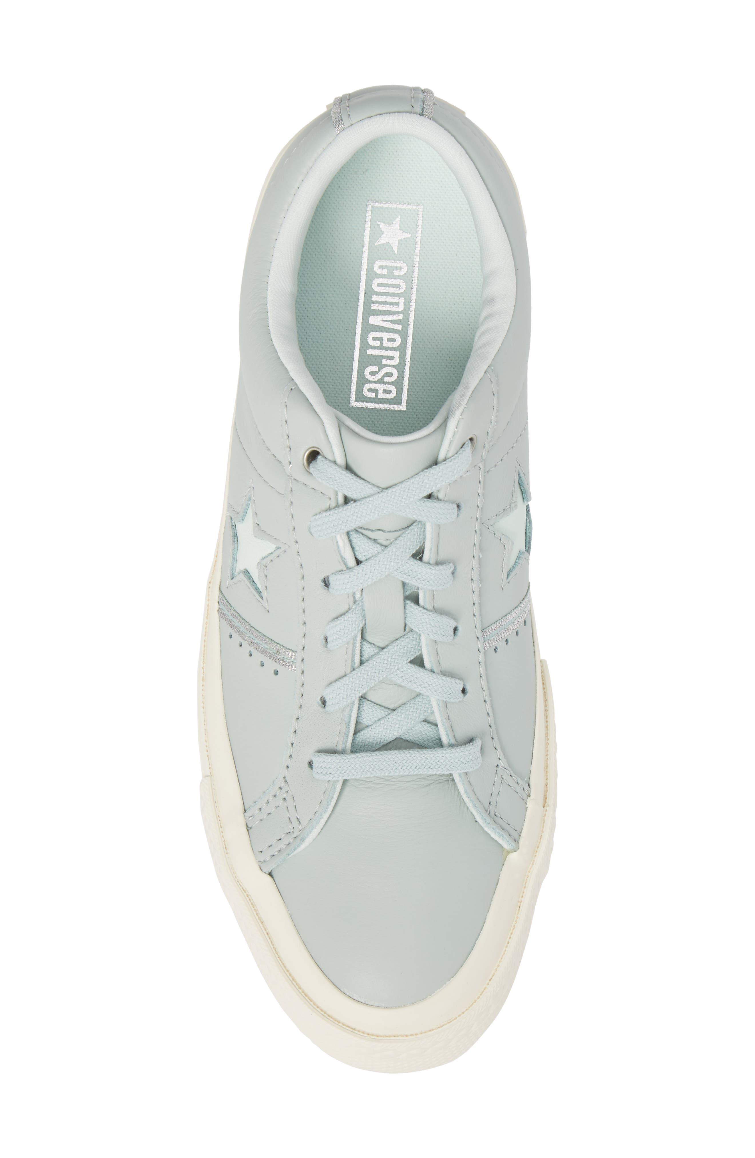 One Star Piping Sneaker,                             Alternate thumbnail 5, color,                             Dried Bamboo