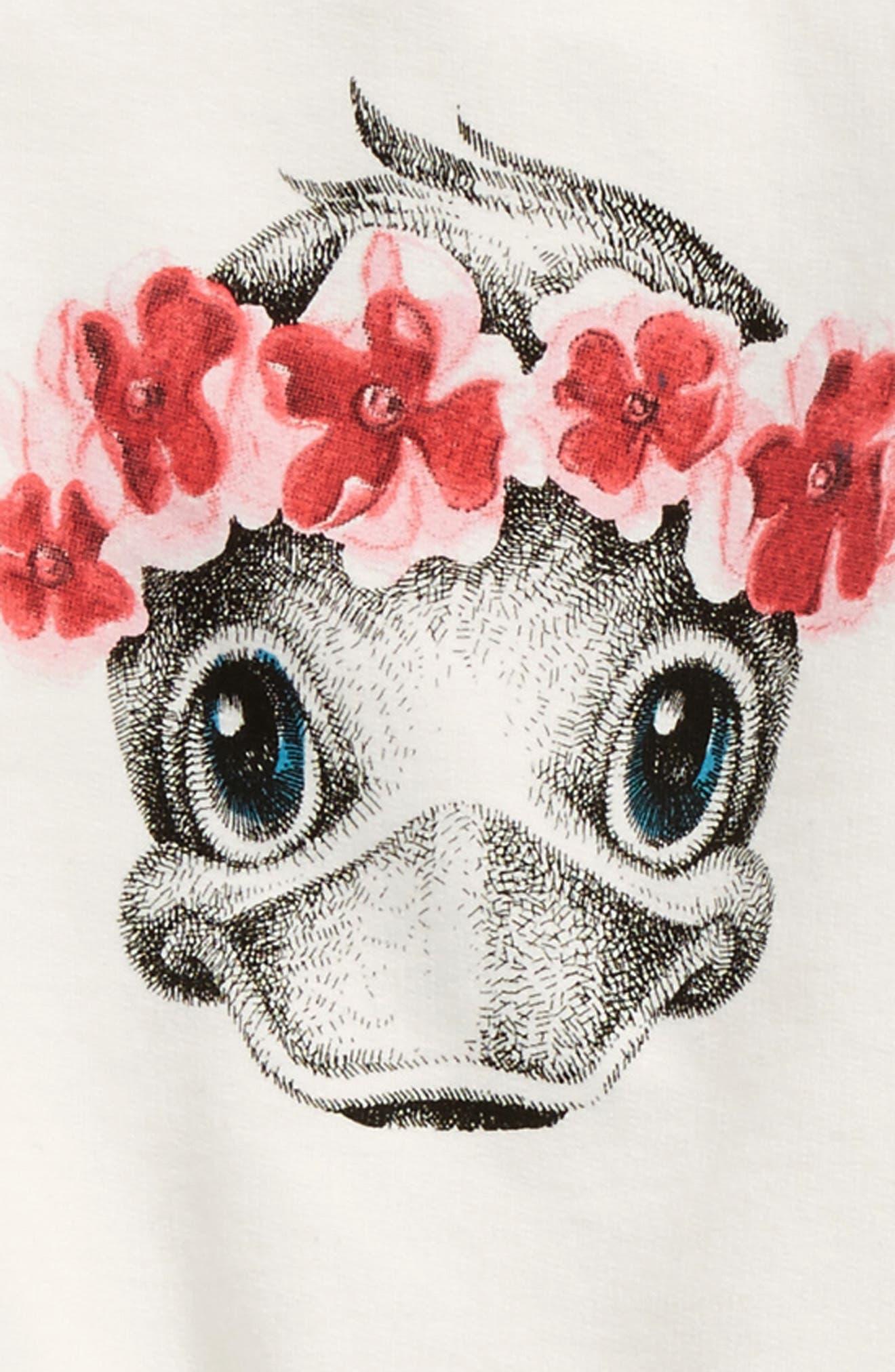 Alternate Image 2  - Moncler Duck Print Sweater & Pants Set (Baby Girls)