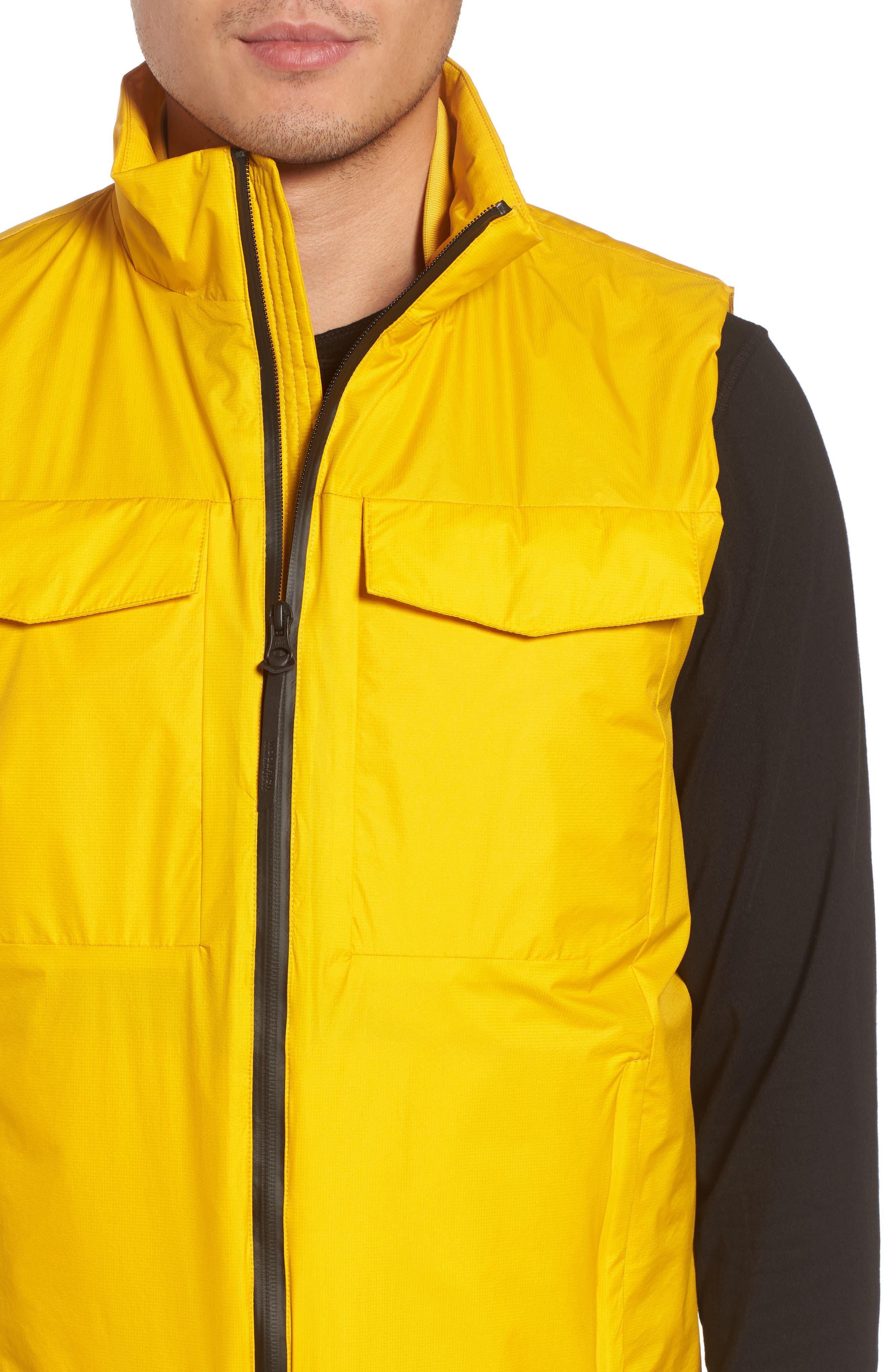 & Bros. Bering Vest,                             Alternate thumbnail 4, color,                             Golden Spice