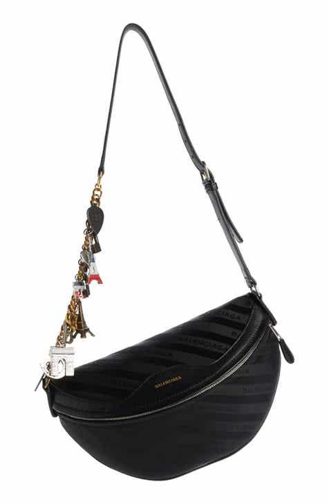 9c1cc9882caf Balenciaga Extra Small Souvenir Logo Belt Bag