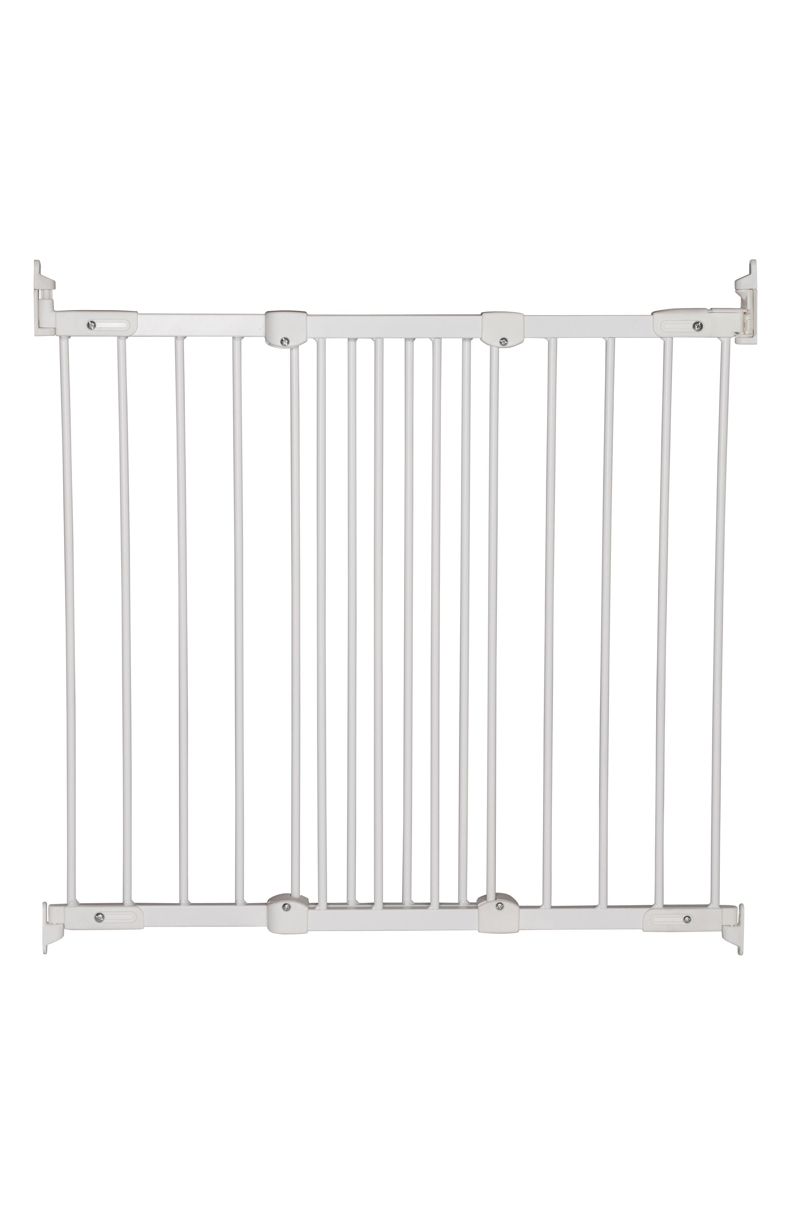 Flexi Fit Extending Hard Mount Safety Gate,                         Main,                         color, White