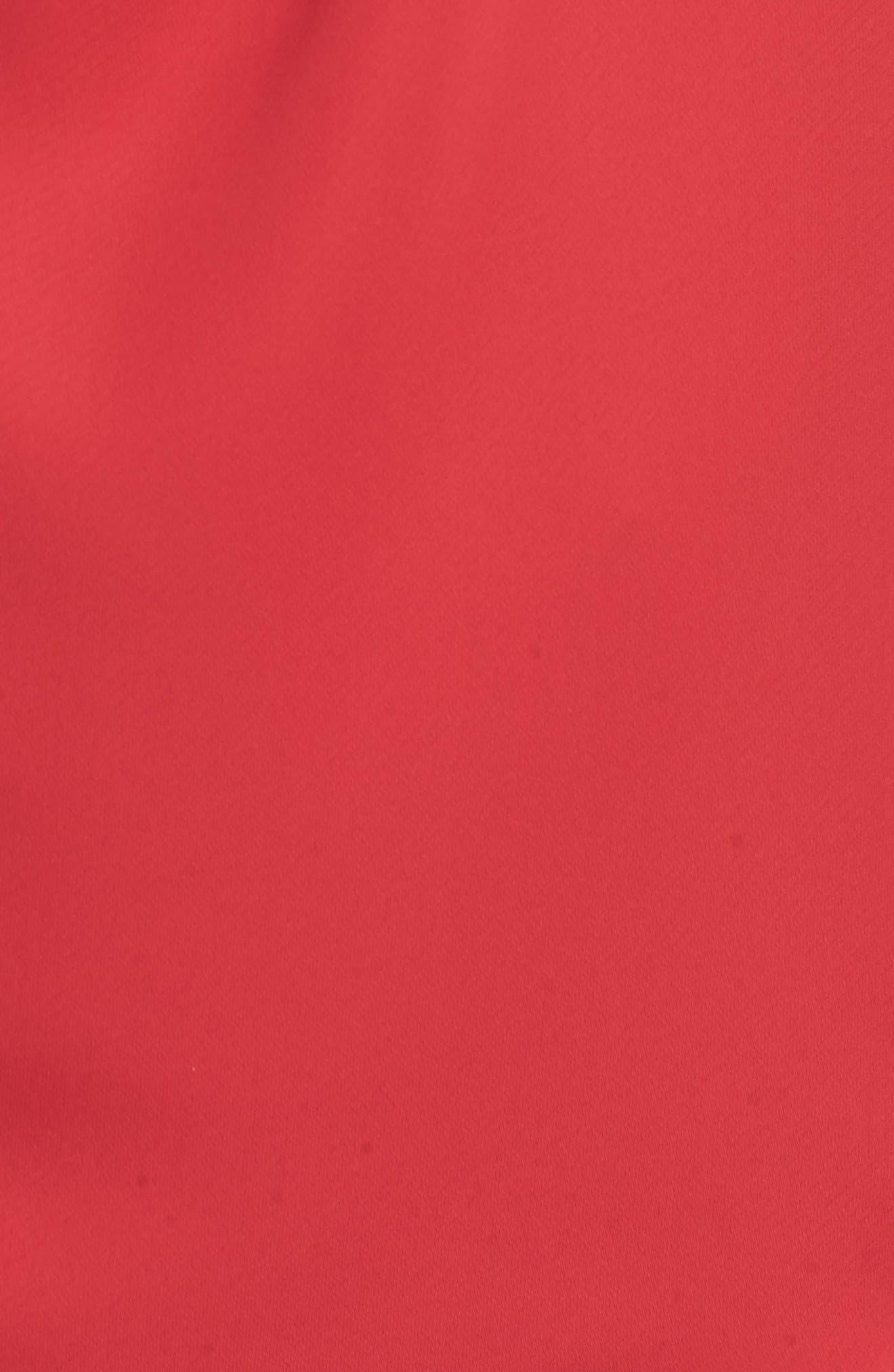 Twist Cap Sleeve Top,                             Alternate thumbnail 5, color,                             True Red