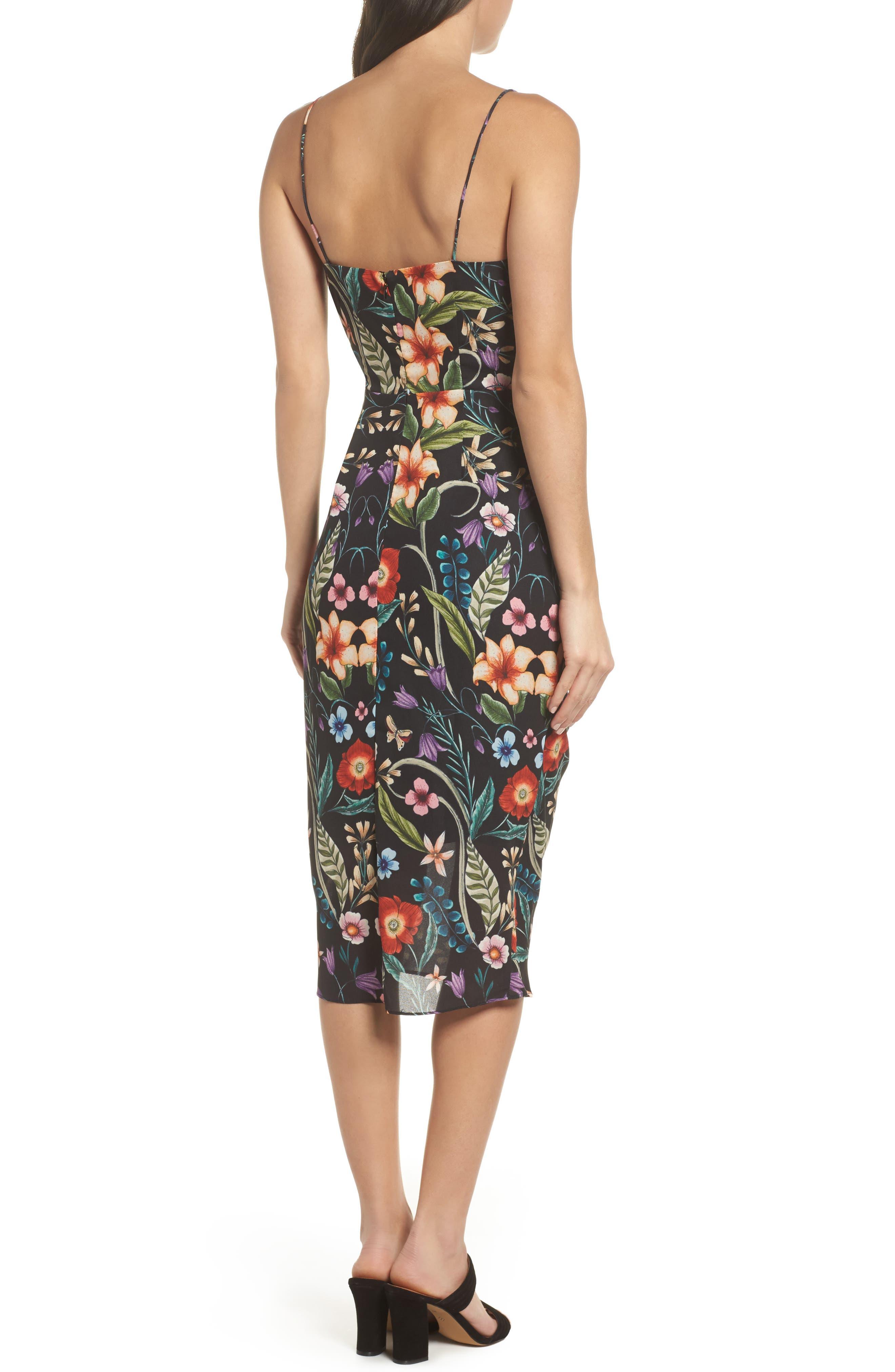 Gardenia Ruffle Dress,                             Alternate thumbnail 2, color,                             Print Dark