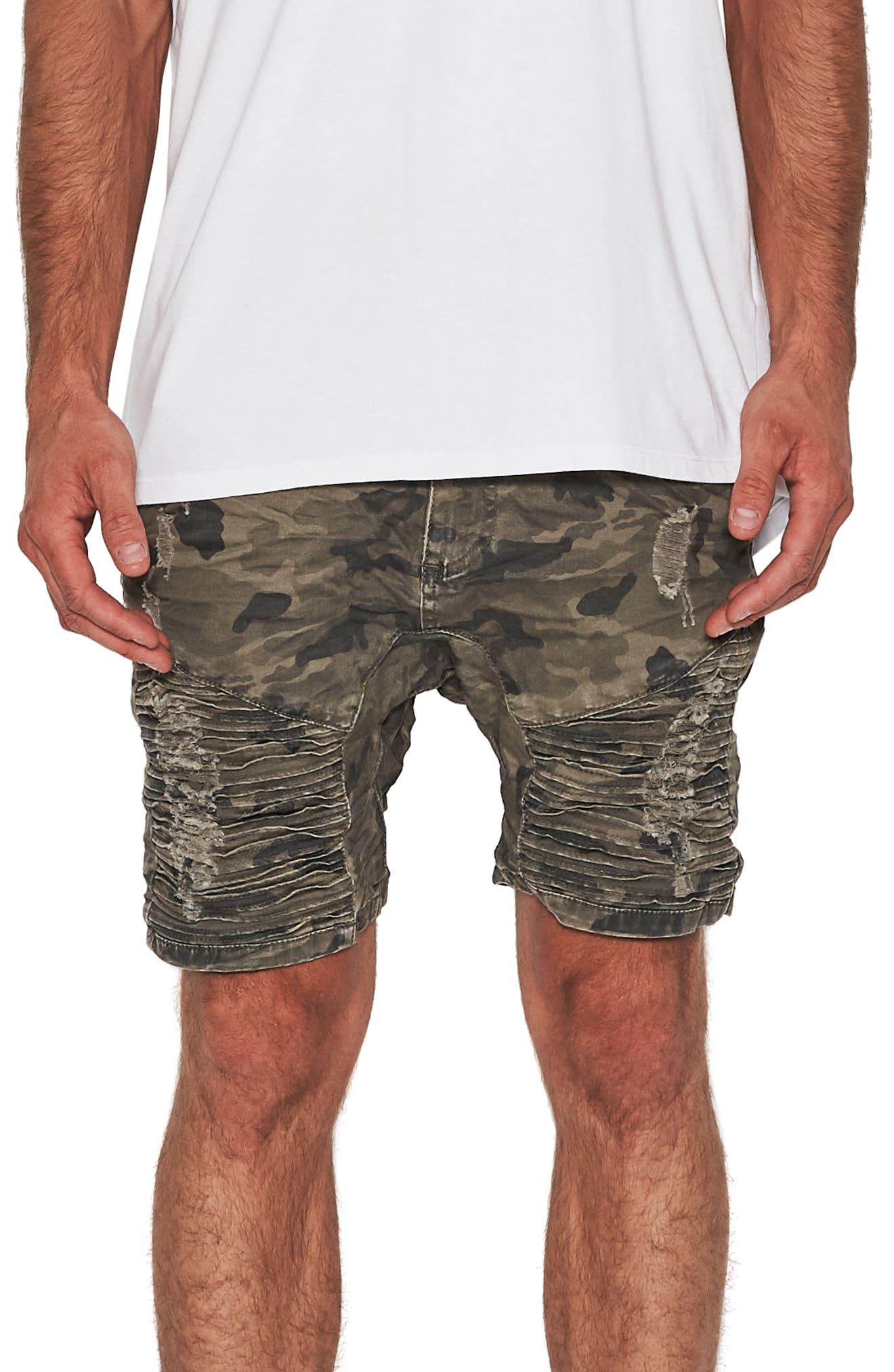 Destroyer Shorts,                         Main,                         color, Airwolf Camo