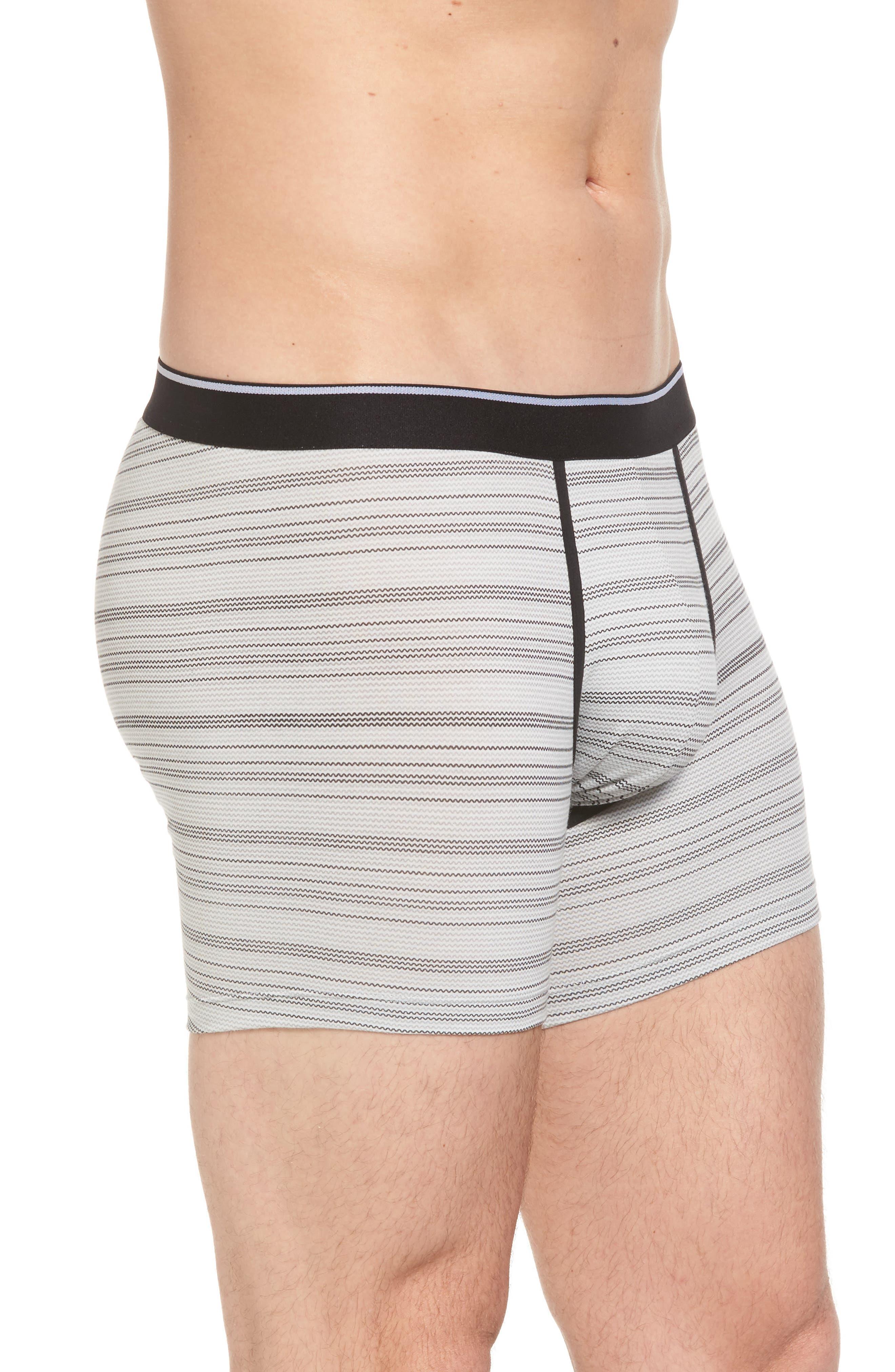 Boxer Briefs,                             Alternate thumbnail 3, color,                             Grey- Black Zig Zag Stripe
