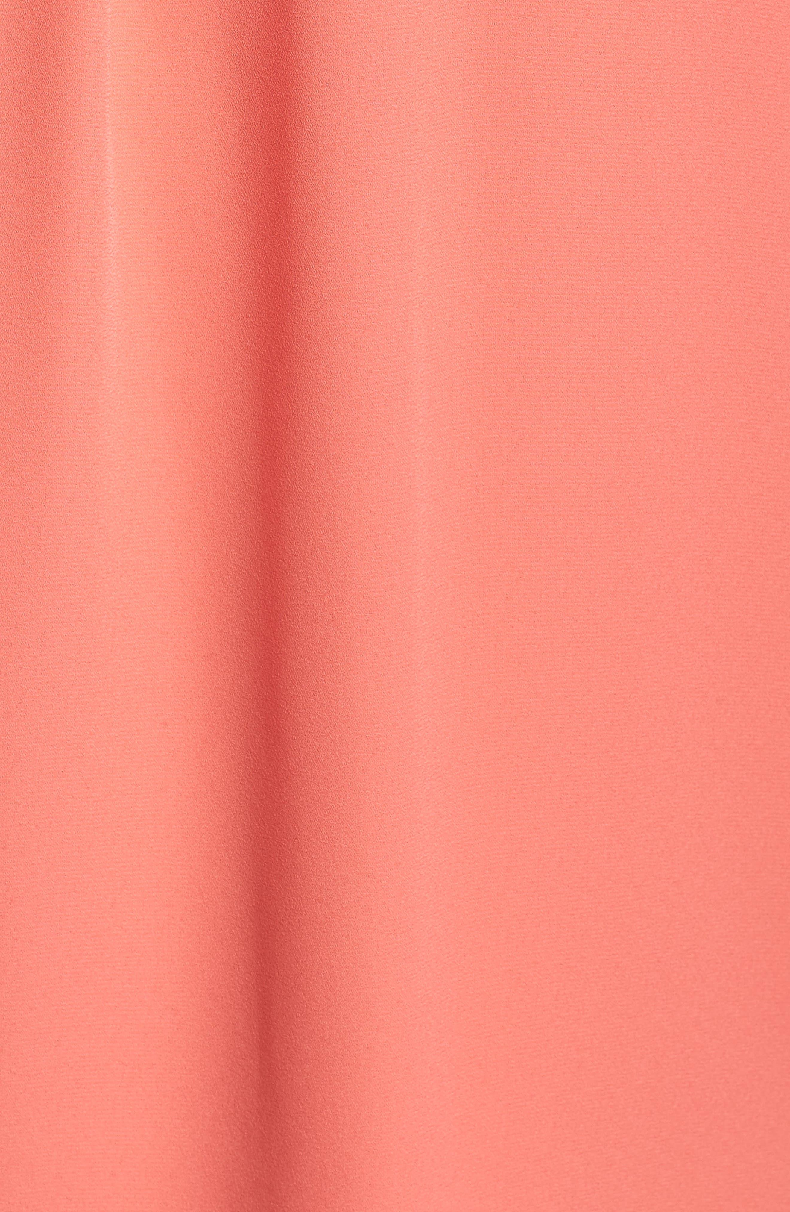 Alternate Image 5  - Vince Camuto Pleated Blouse (Plus Size)