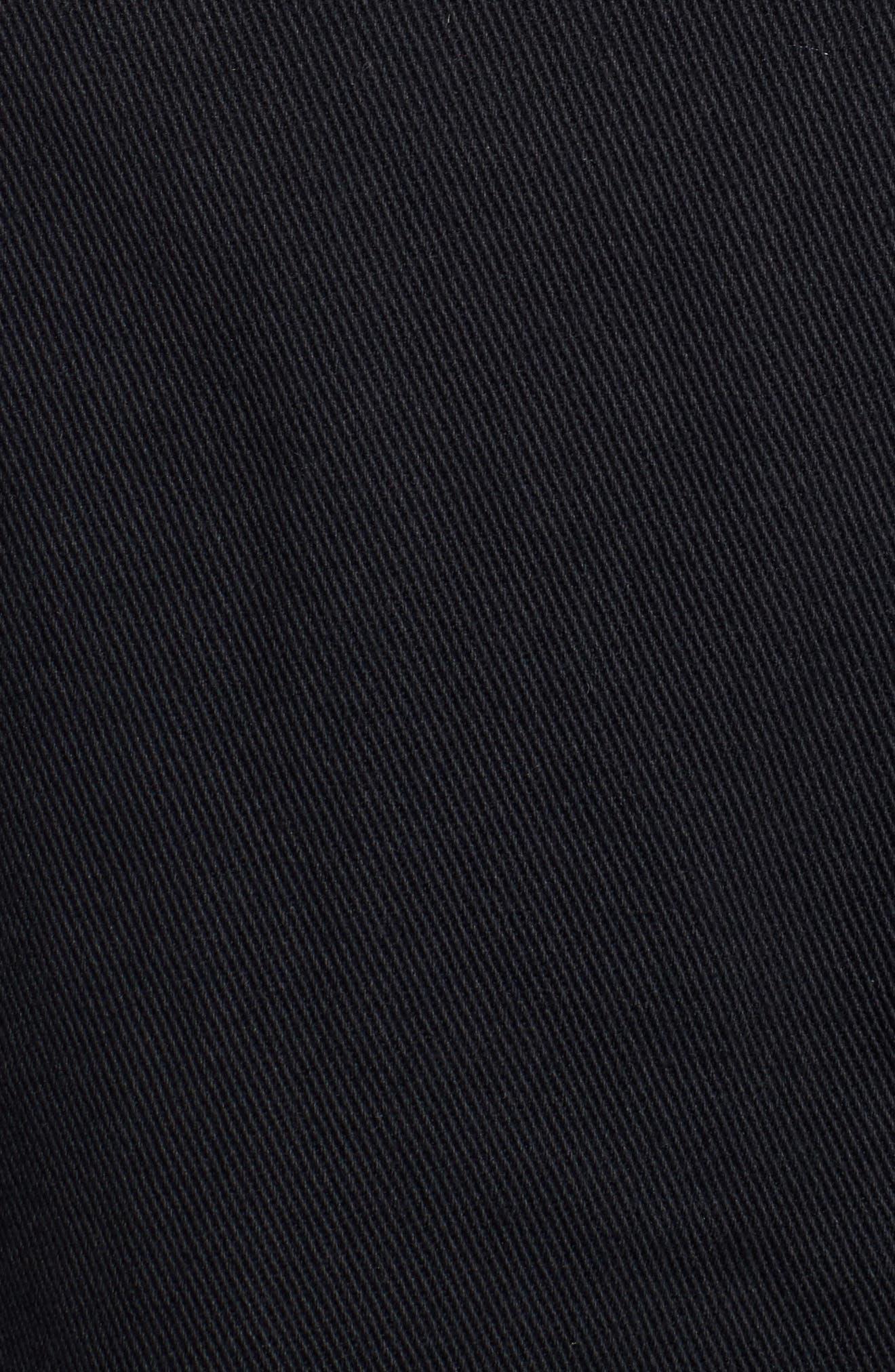 Classic Fit Denim Jacket,                             Alternate thumbnail 5, color,                             Blue Acid Wash