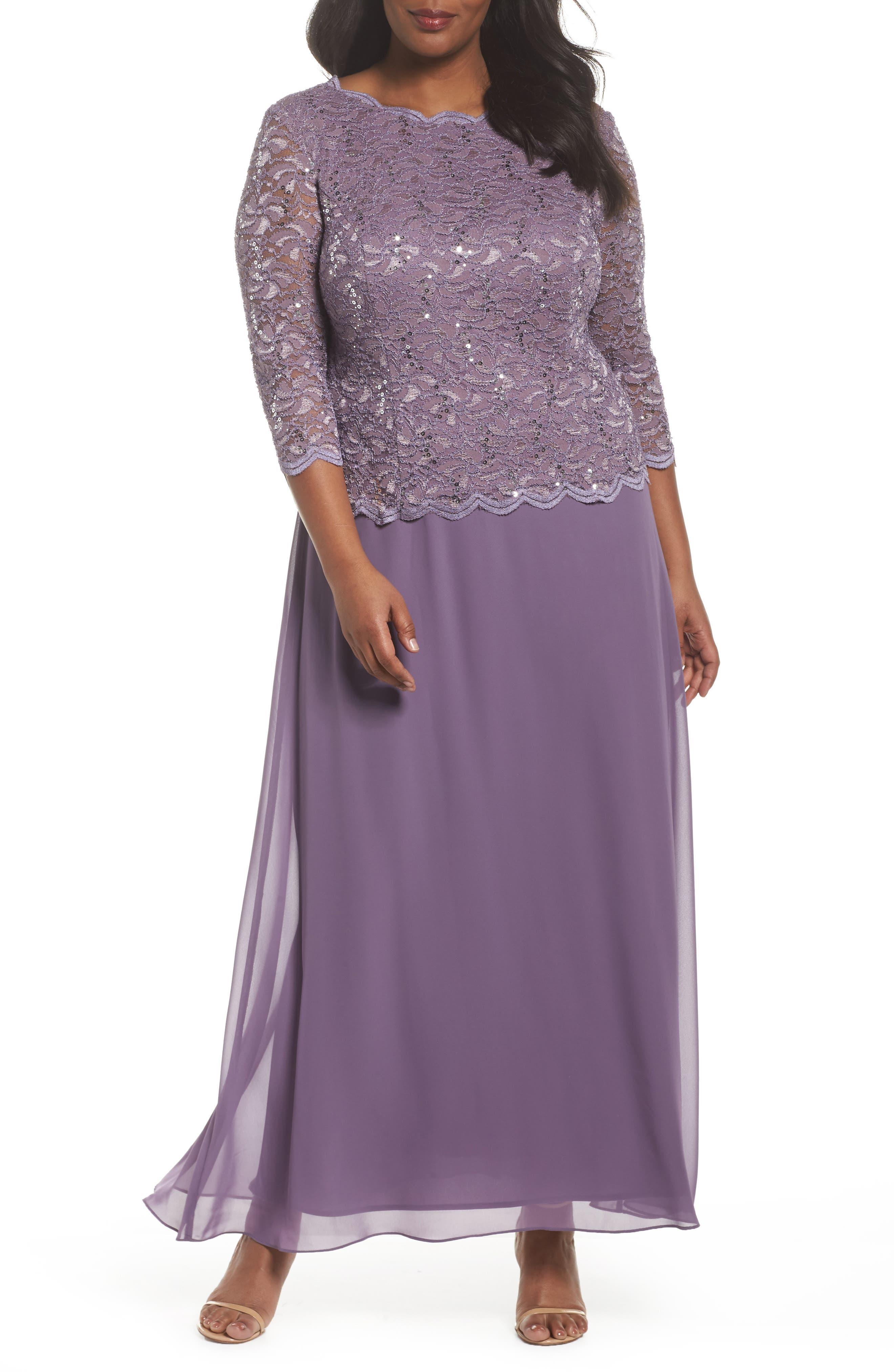 Plus Size Long Gown
