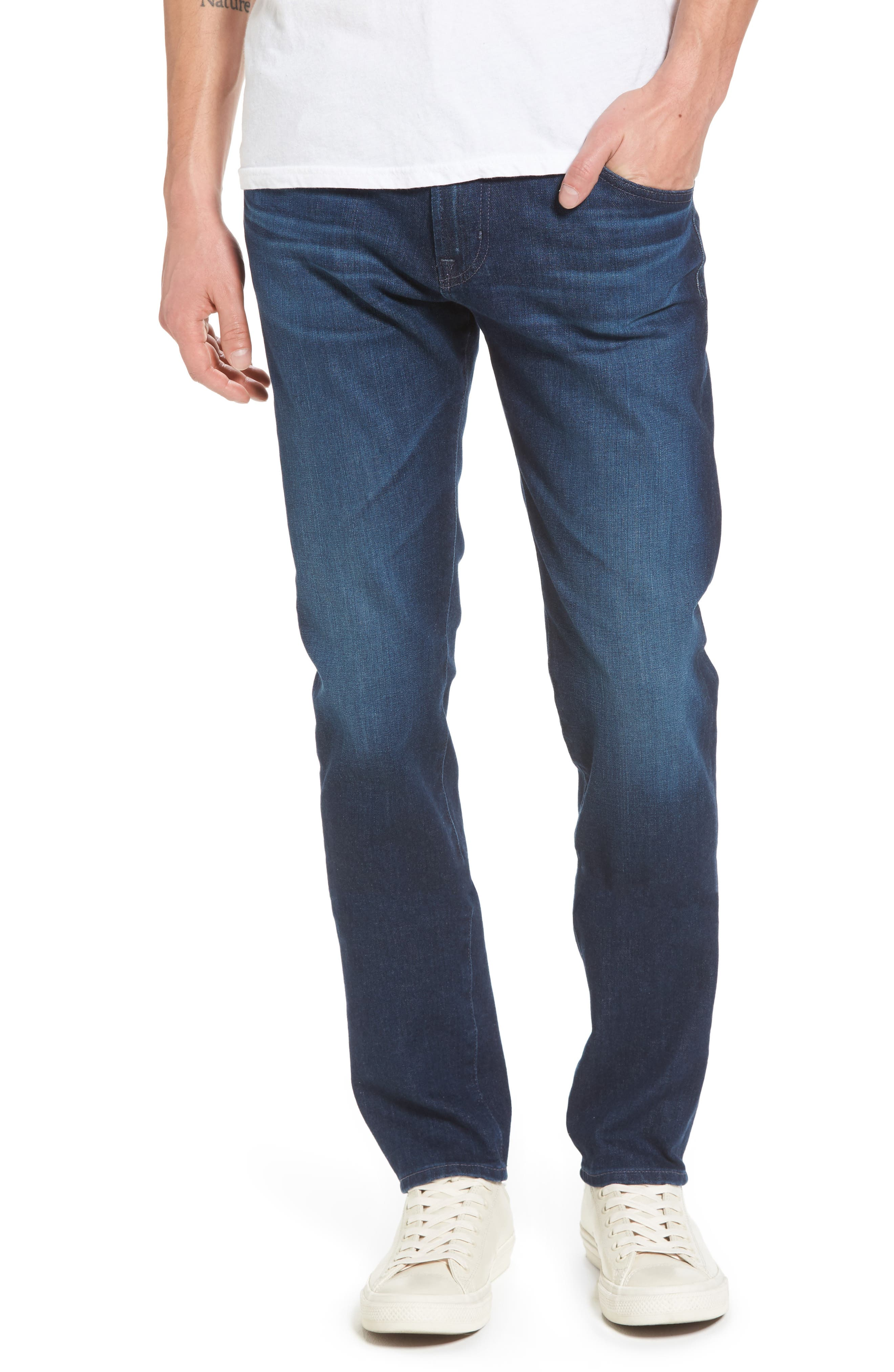 Dylan Skinny Fit Jeans,                             Main thumbnail 1, color,                             Crosscreek