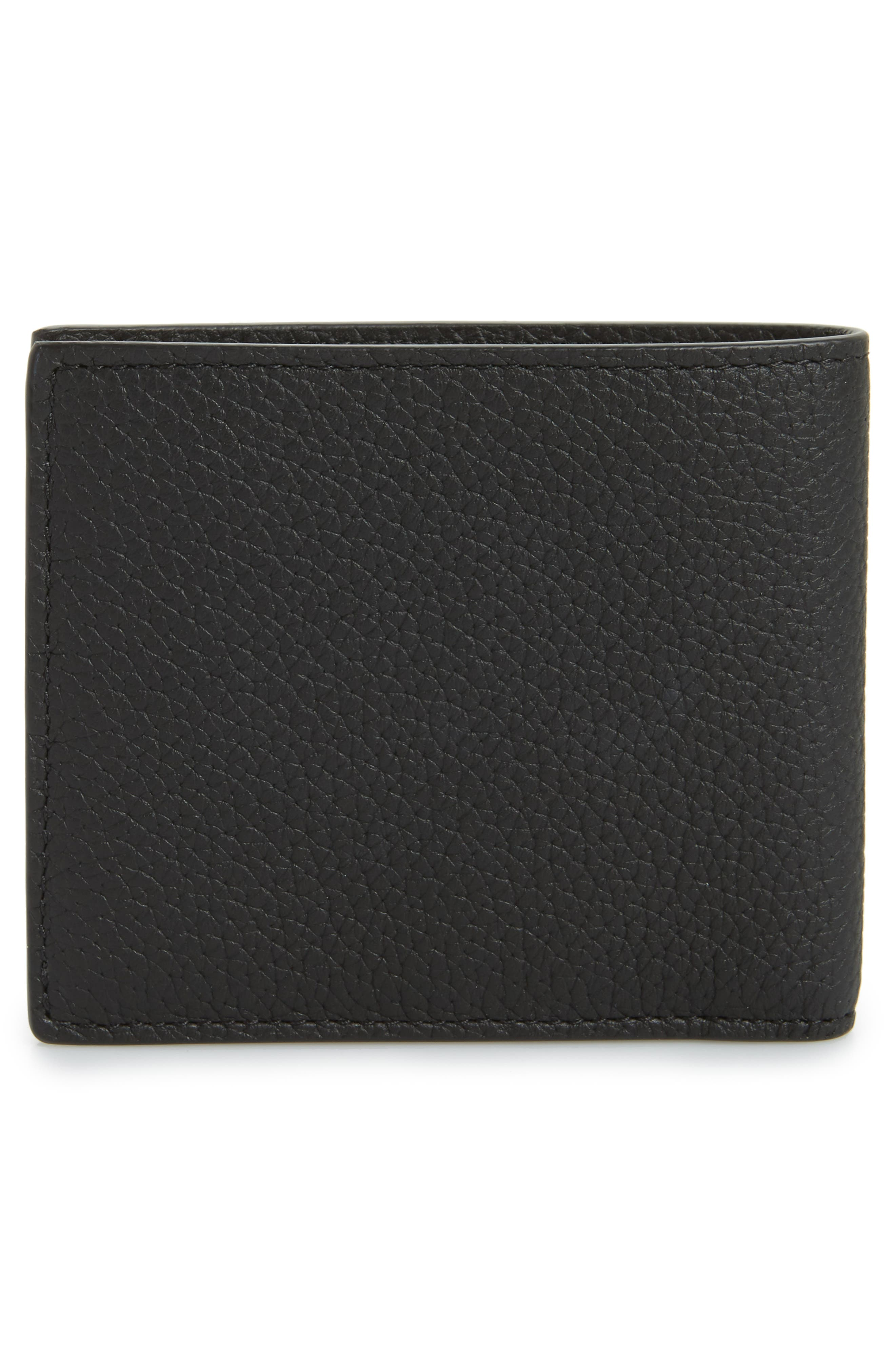 Alternate Image 3  - Versace First Line Leather Wallet