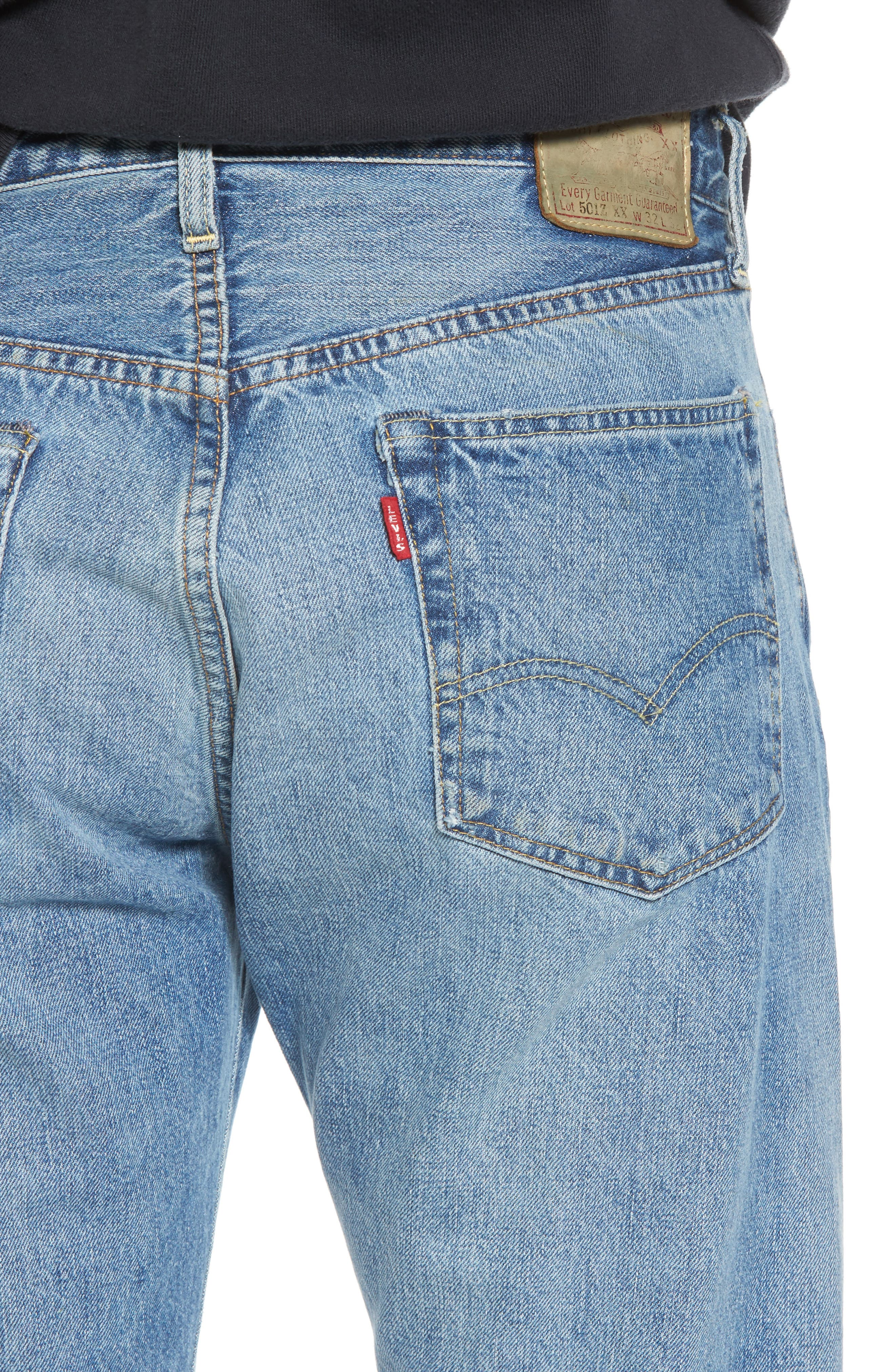 1954 501<sup>®</sup> Tapered Leg Jeans,                             Alternate thumbnail 4, color,                             Baja Surf