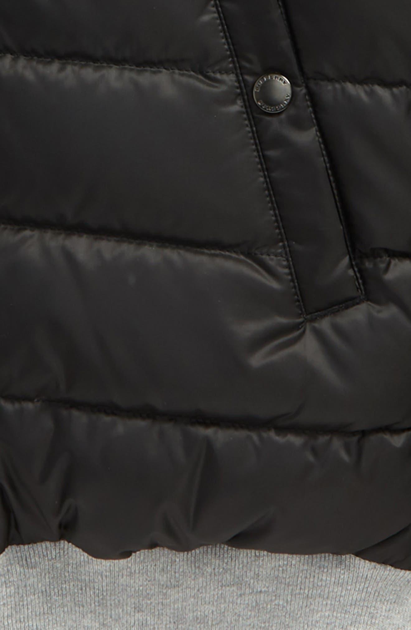 Alternate Image 3  - Burberry Mini Langleigh Reversible Down Jacket (Little Boys & Big Boys)
