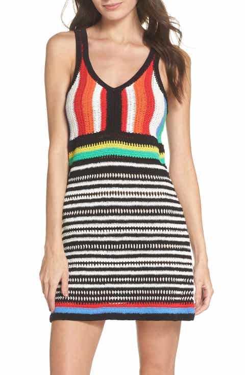 Diane Von Furstenberg Sweater Cover-Up Dress