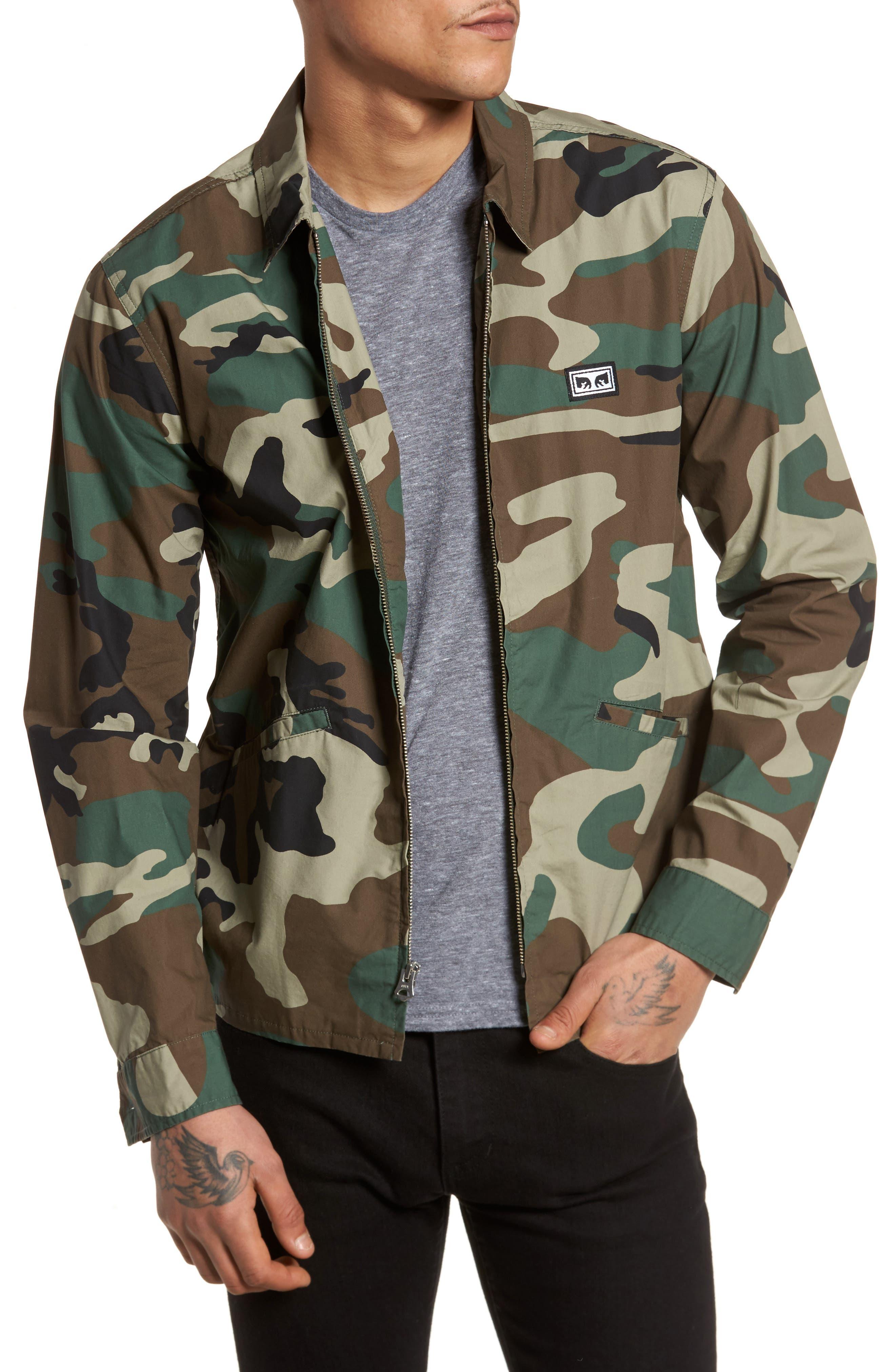 Driver Jacket,                         Main,                         color, Field Camo