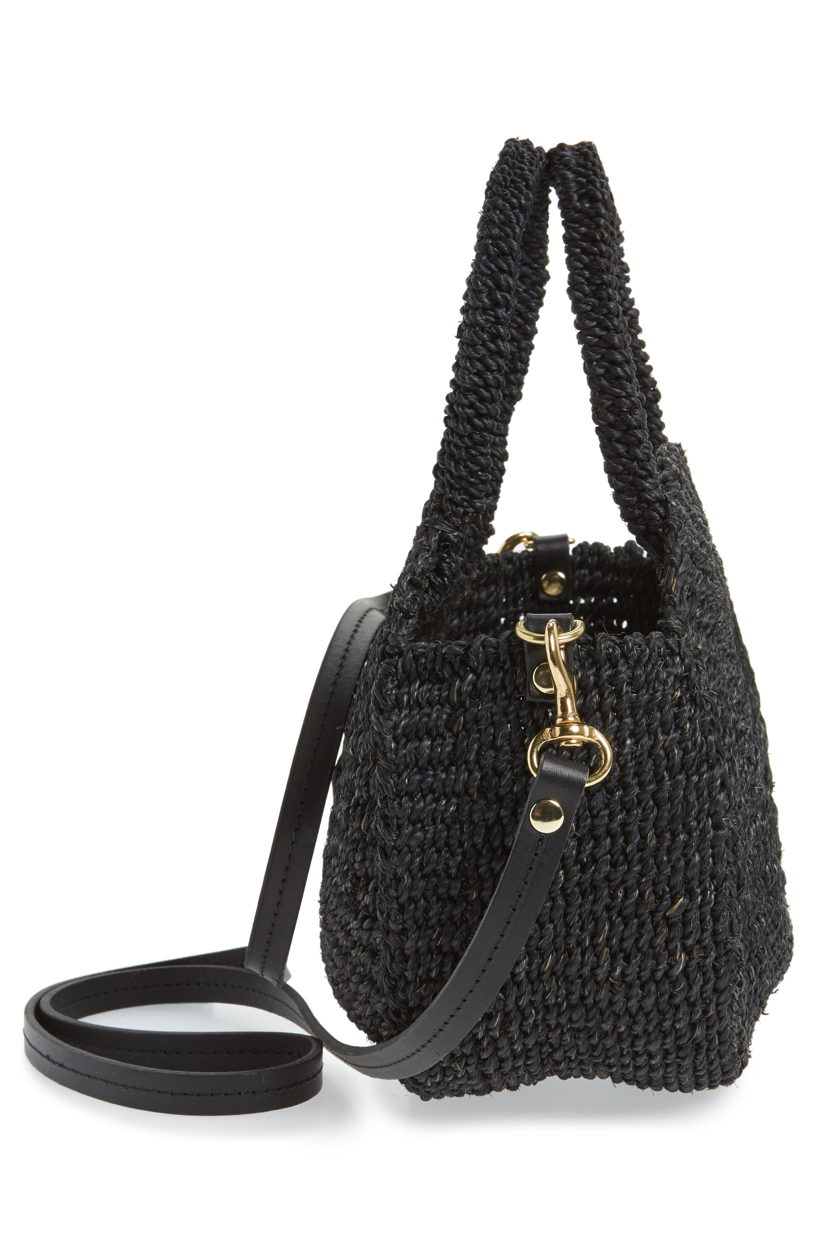 Alternate Image 5  - Clare V. Petite Alice Straw Bag