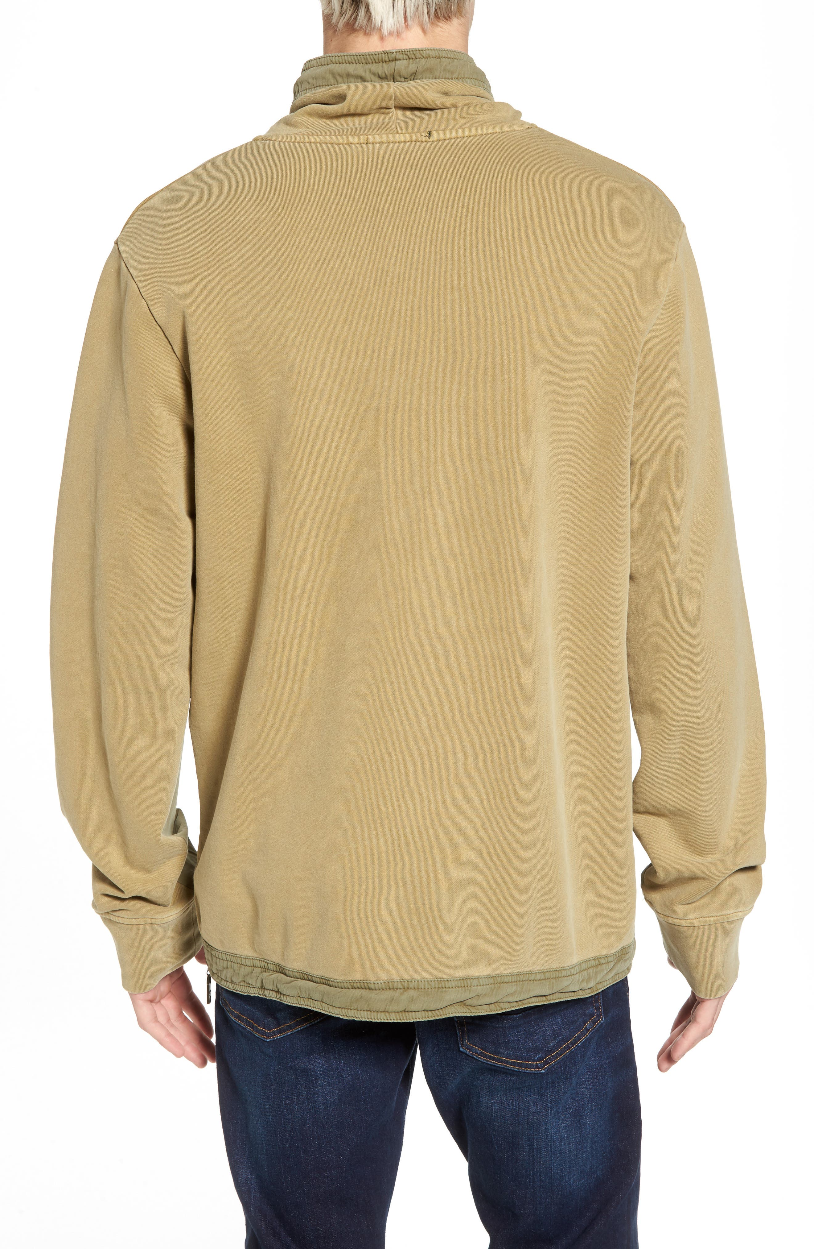 Garment Dyed Sweatshirt,                             Alternate thumbnail 2, color,                             Combo A
