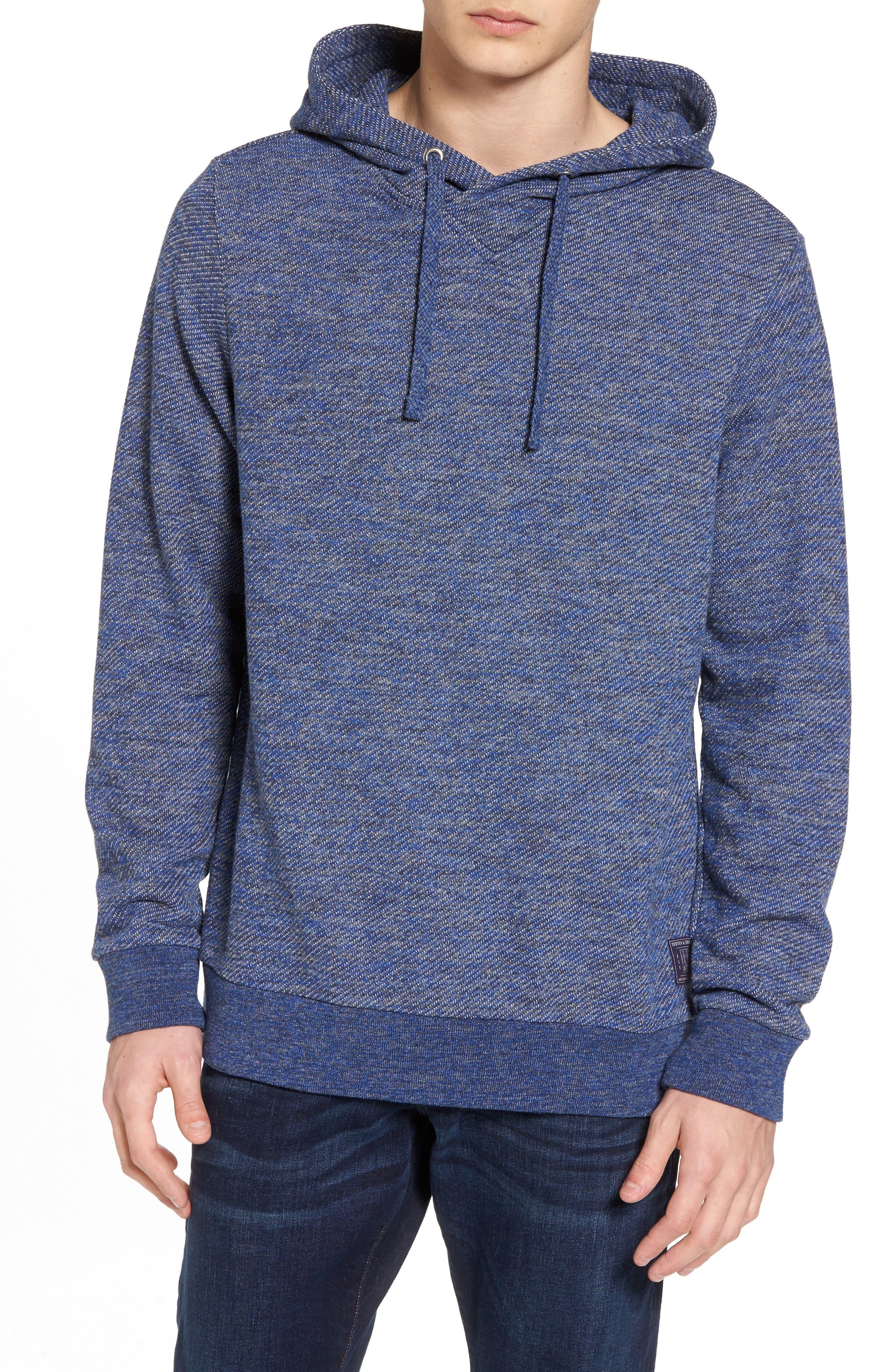Mélange Knit Hoodie,                         Main,                         color, Combo E